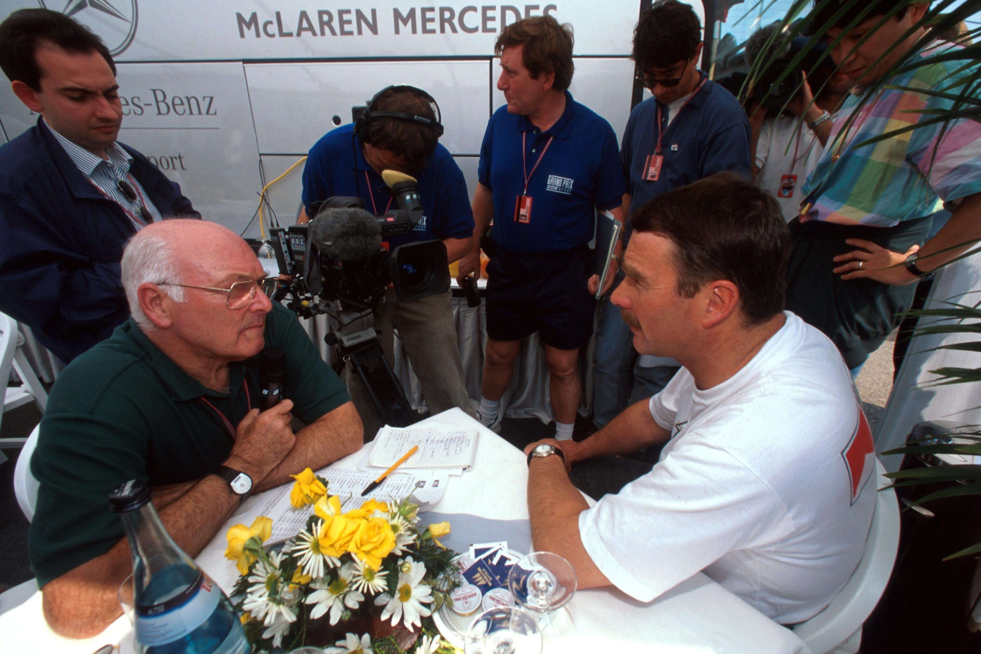Walker always got on well with Mansell