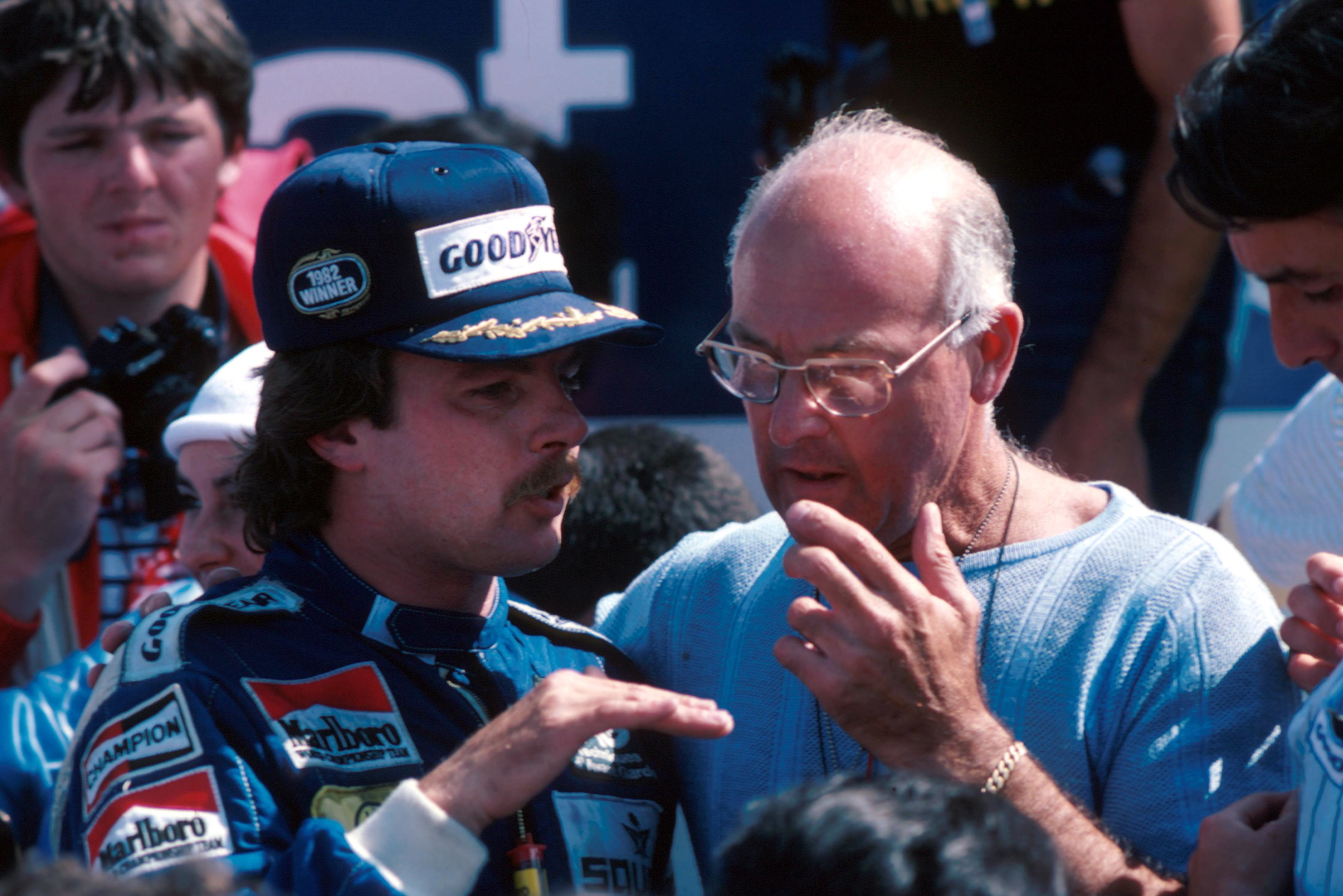Walker's work in F1 became all-consuming