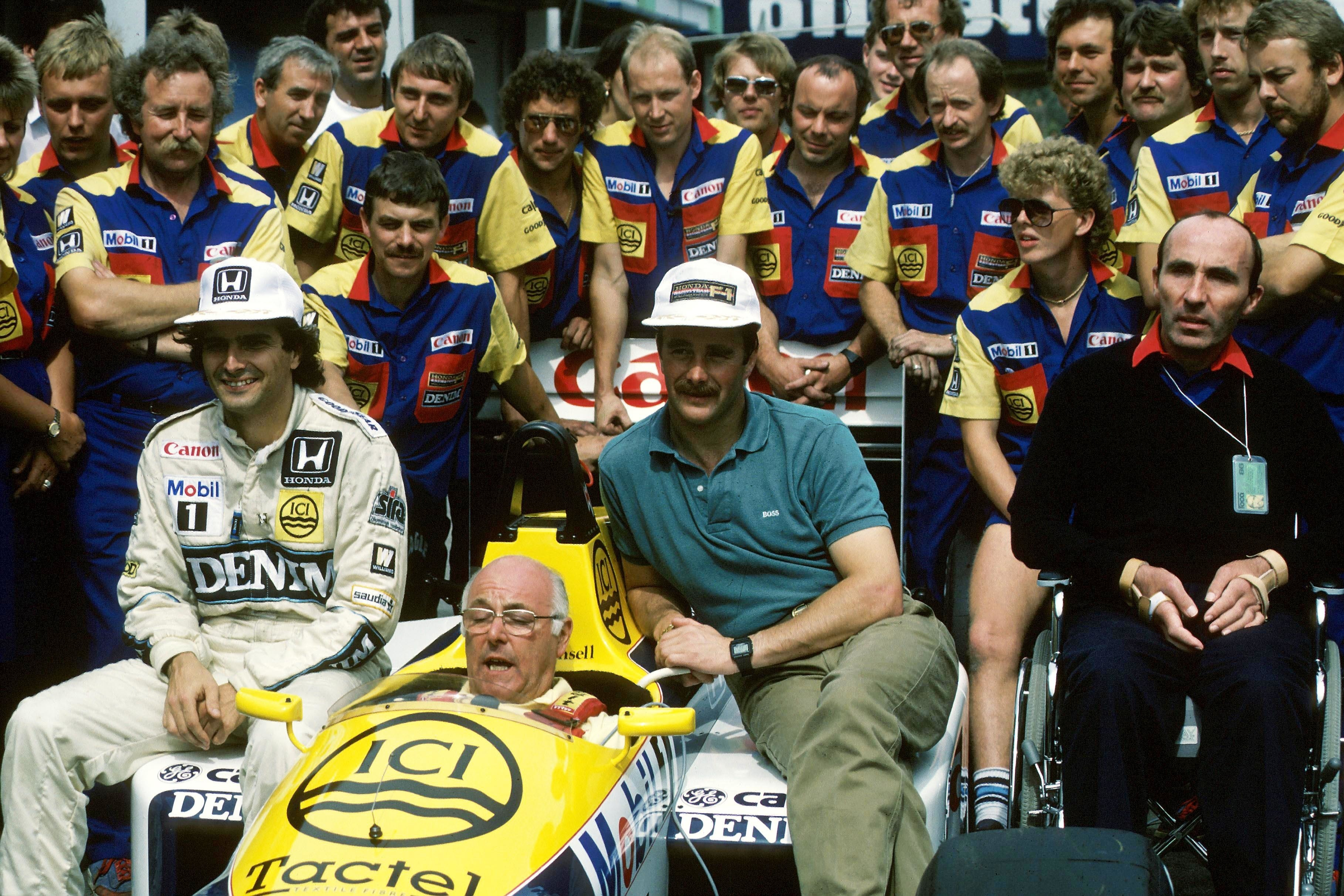 Murray Walker, F1 Portuguese Grand Prix 1986