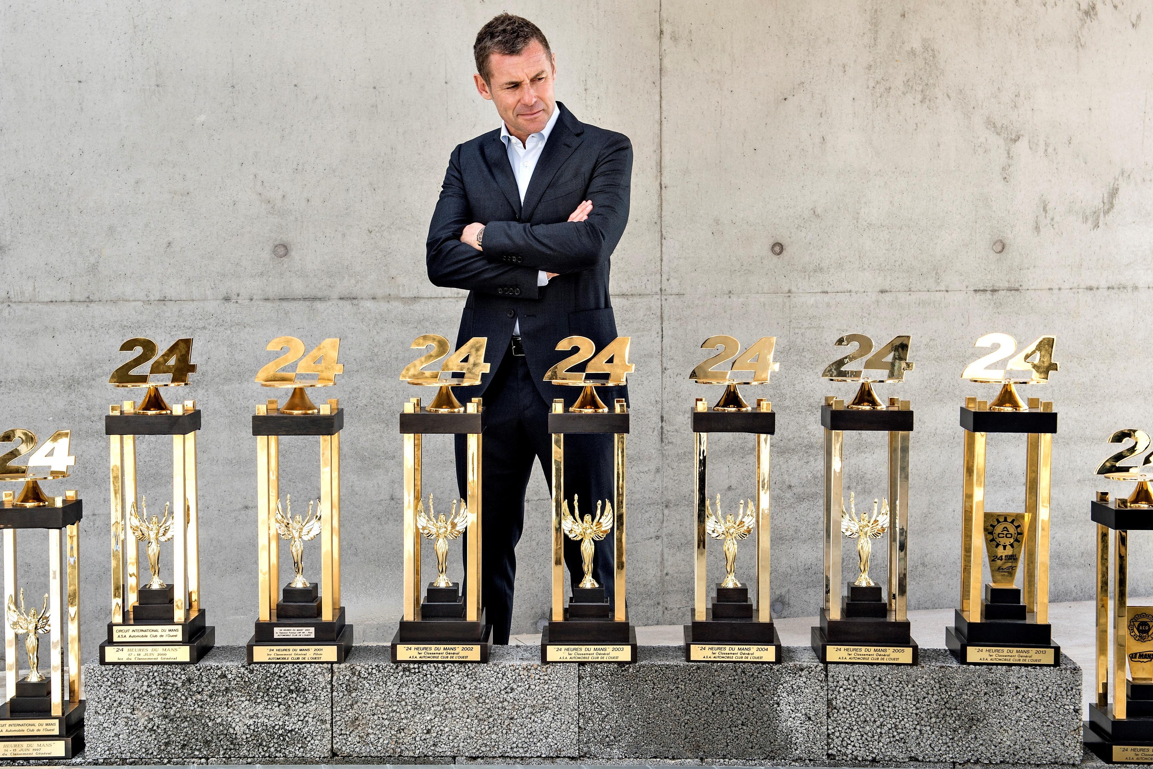 Tom Kristensen, Le Mans 24 Hours trophies