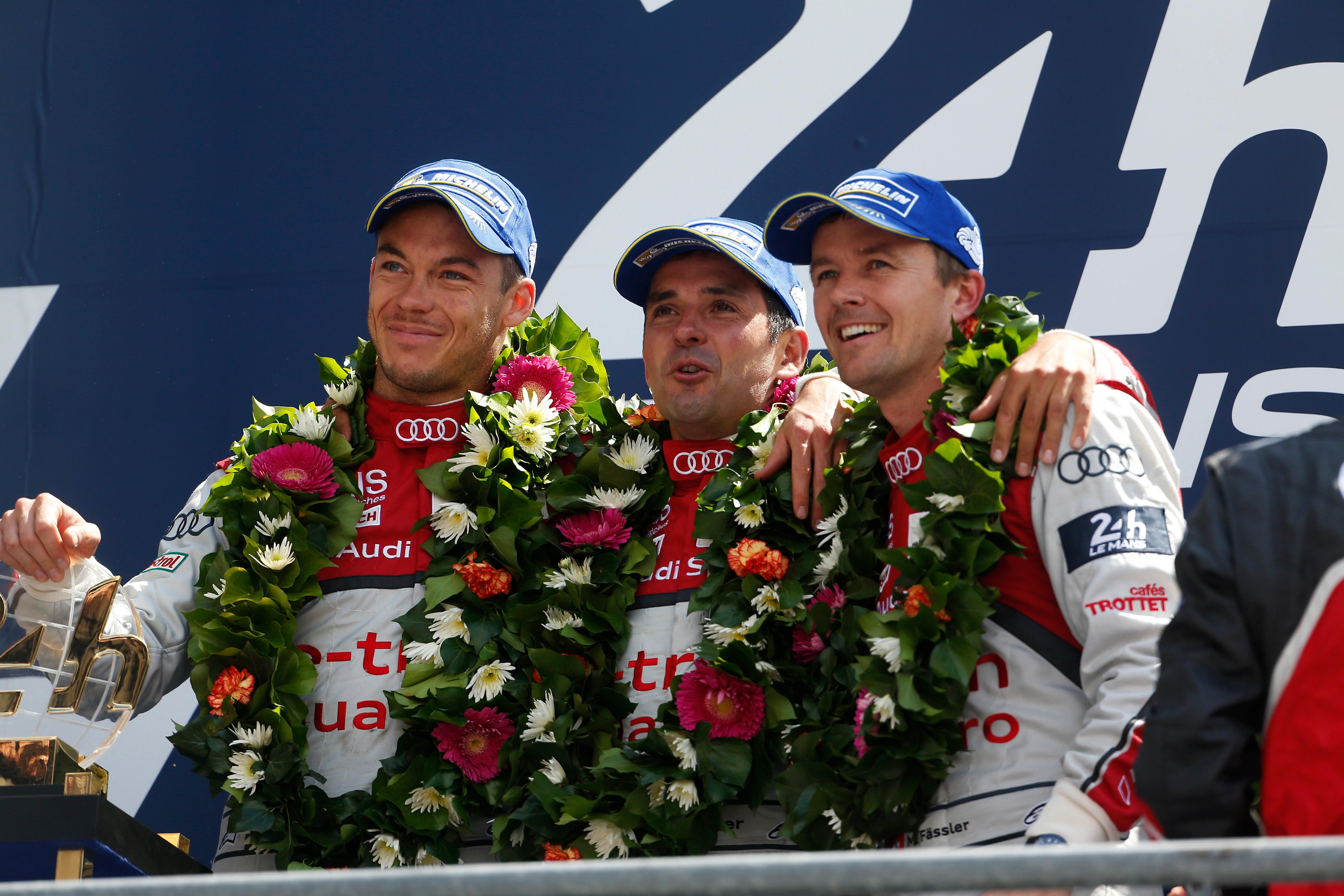 Marcel Fassler, 2014 Le Mans 24 Hours