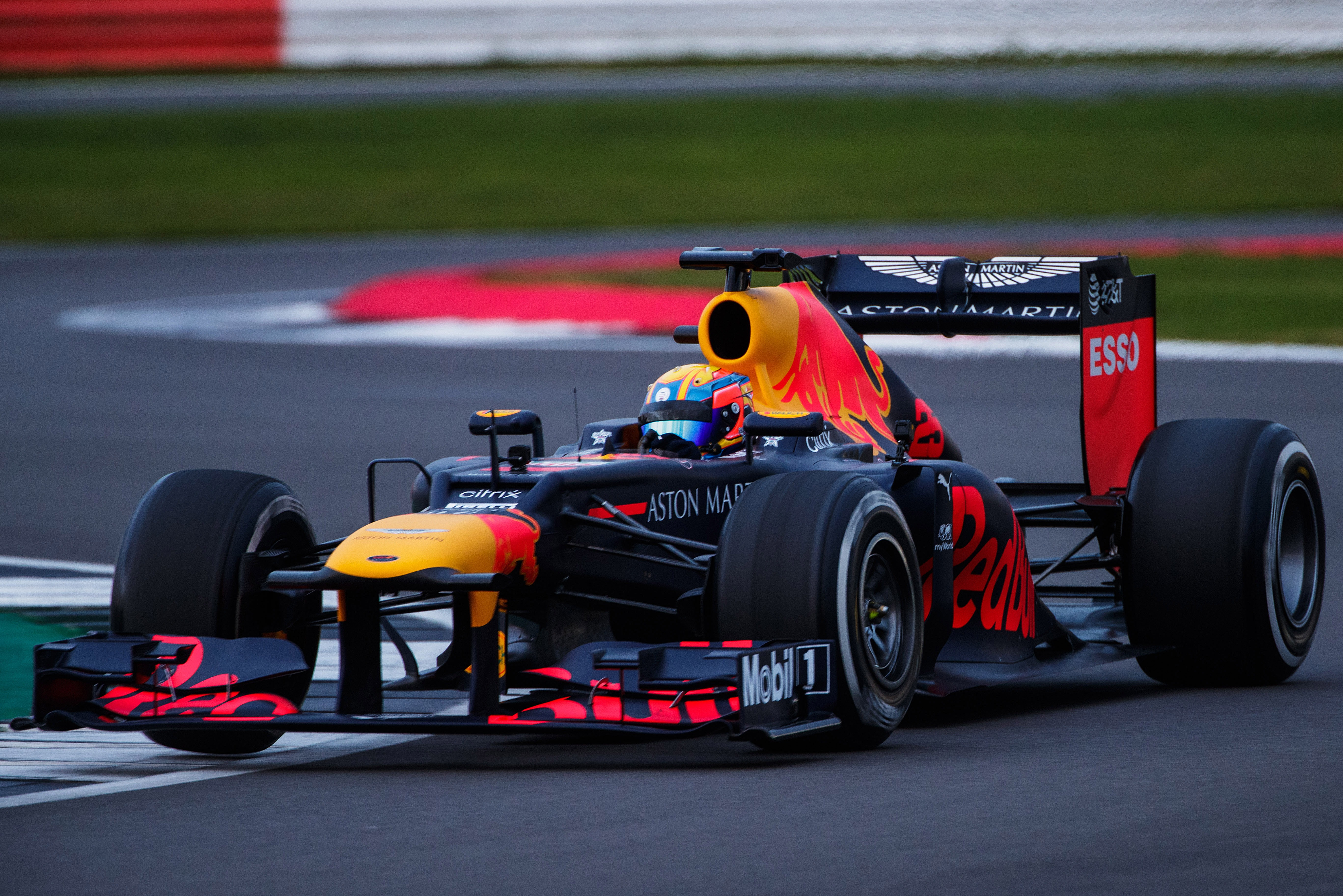 Johnathan Hoggard drove Red Bull Racing's RB8 at Silverstone last year after winning the 2019 Aston Martin Autosport BRDC Young Driver of the Year Award.