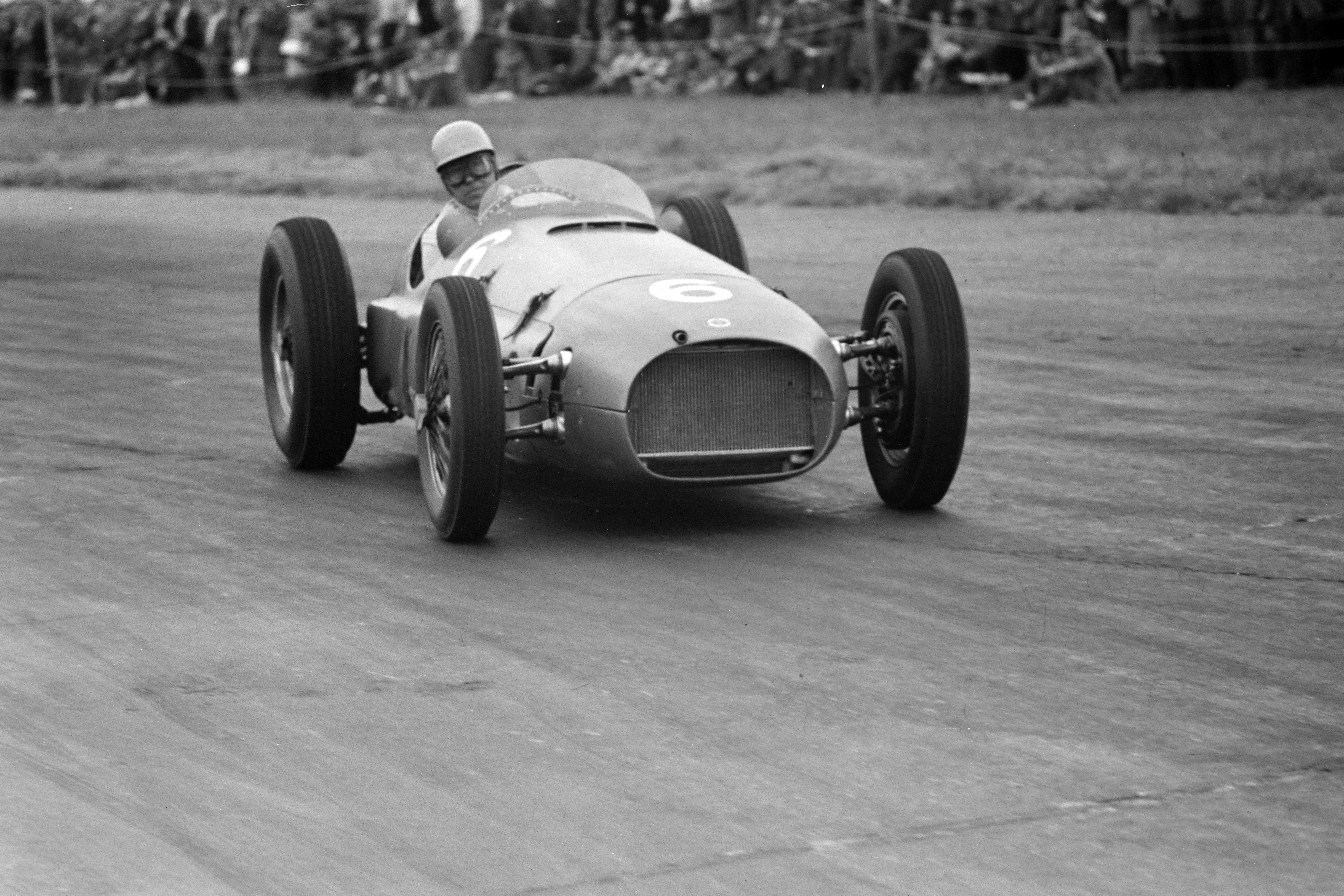 Reg Parnell BRM P15 1951 British GP