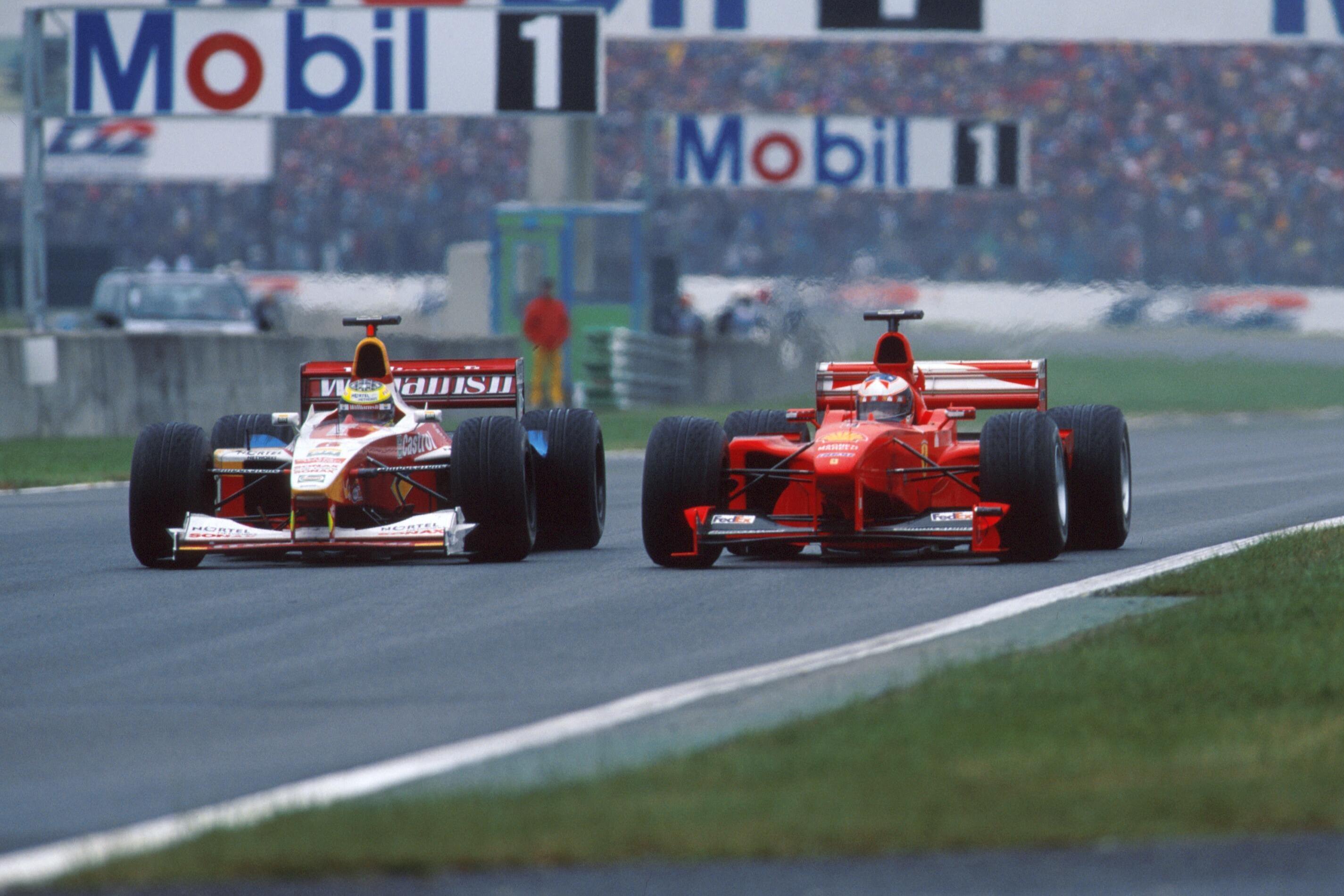 Ralf Schumacher, Michael Schumacher 1999 French GP