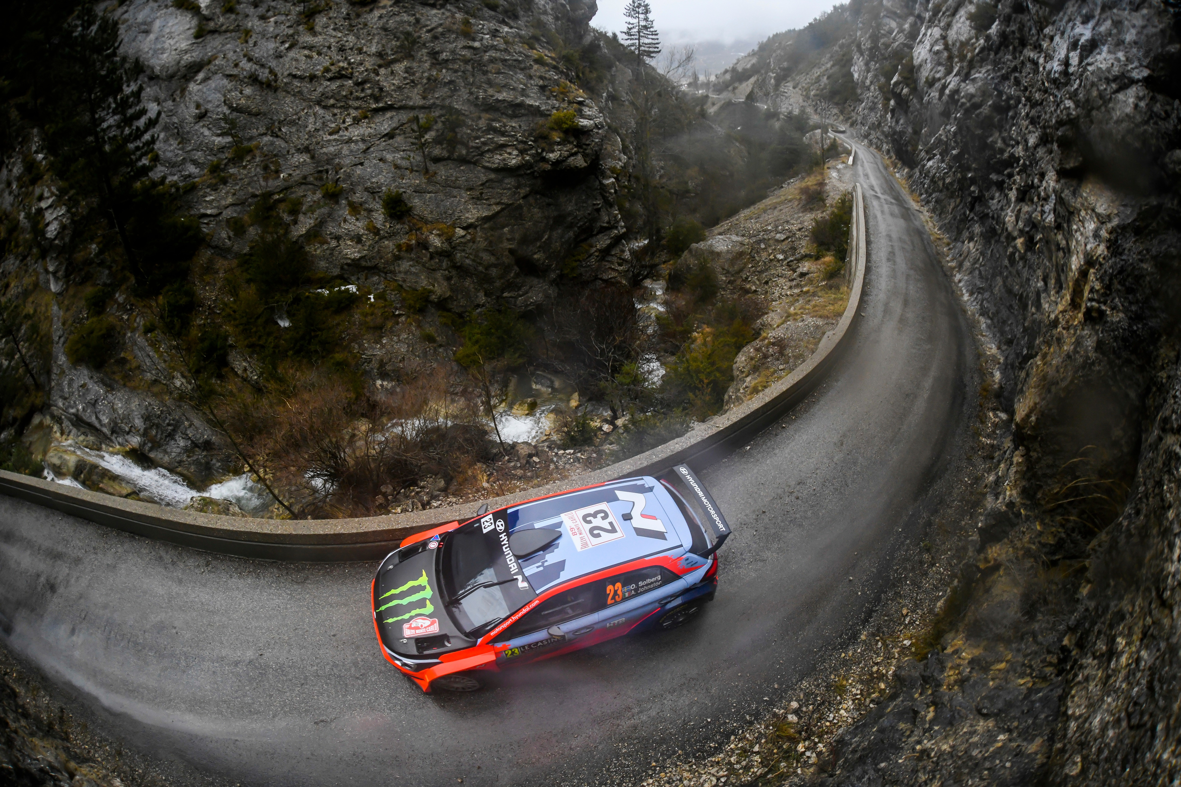 Oliver Solberg, WRC2 Rally Monte Carlo 2021
