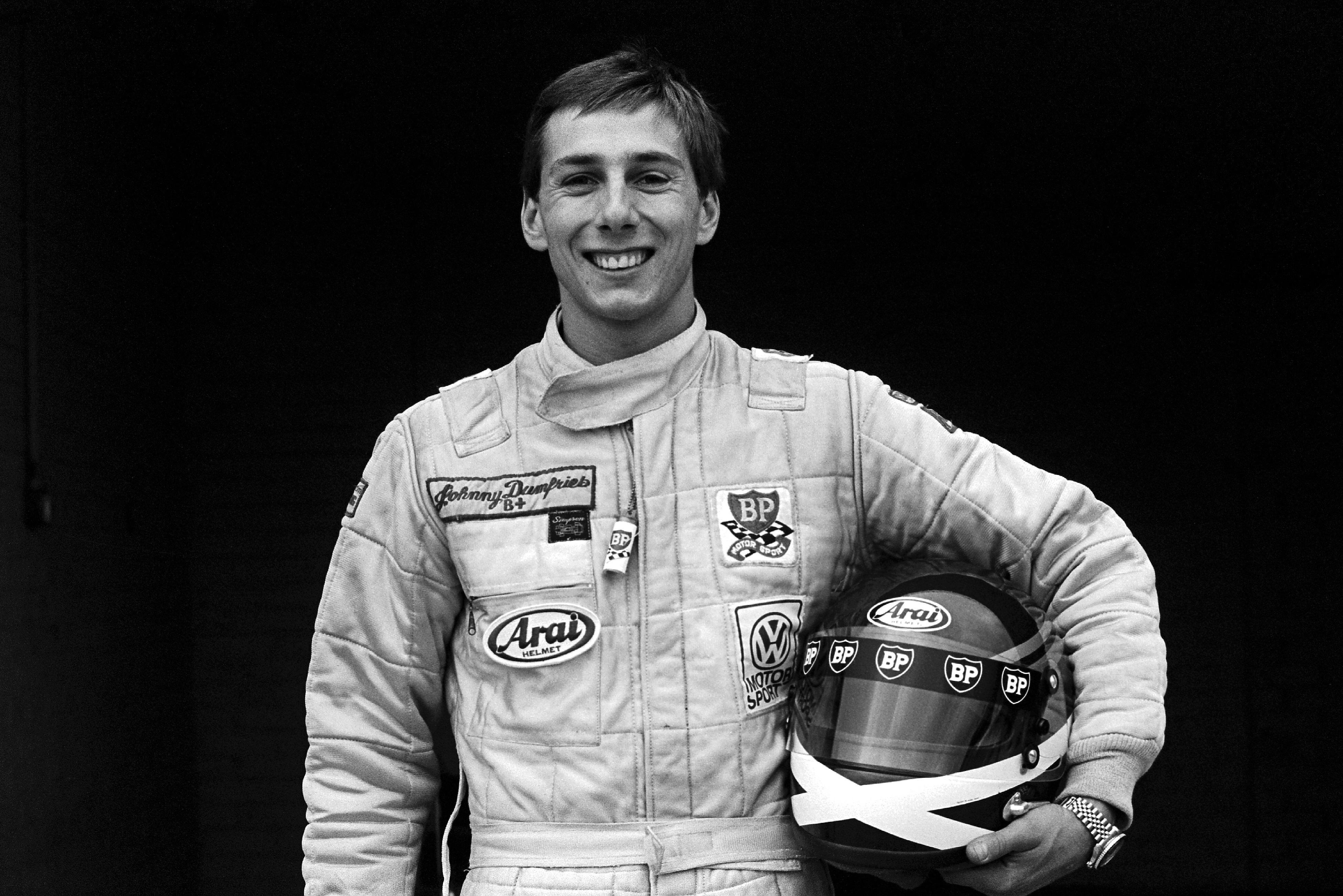 Johnny Dumfries, Ralt RT3/83-Toyota, European Formula 3, Donington Park, 1983