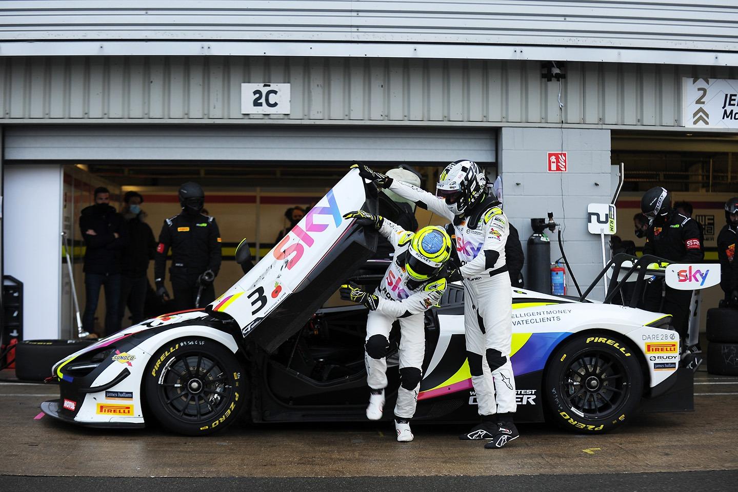 Chris Buncombe, Jenson Button - Jenson Team Rocket RJN McLaren 720S GT3
