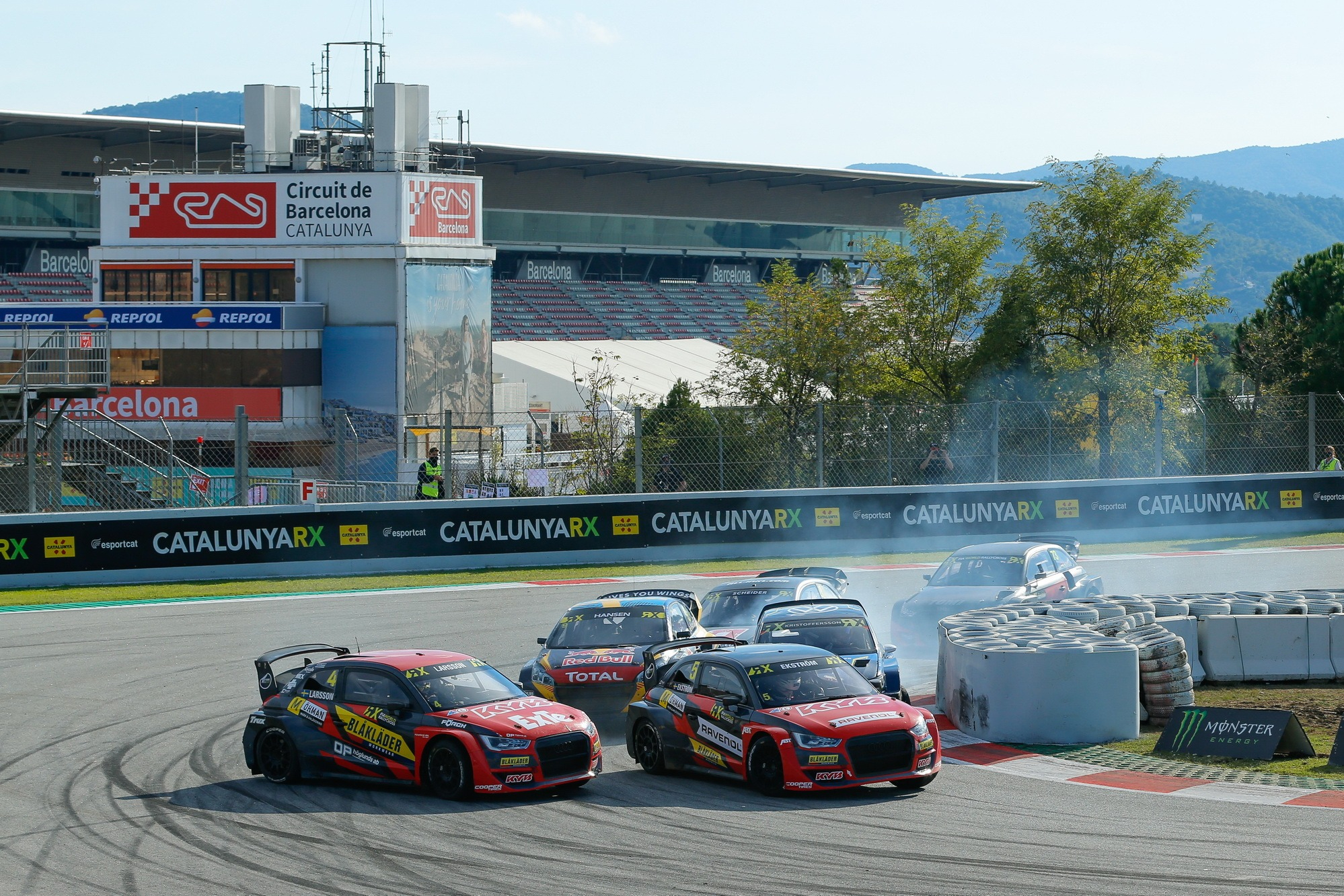 World Rallycross, Barcelona, race action