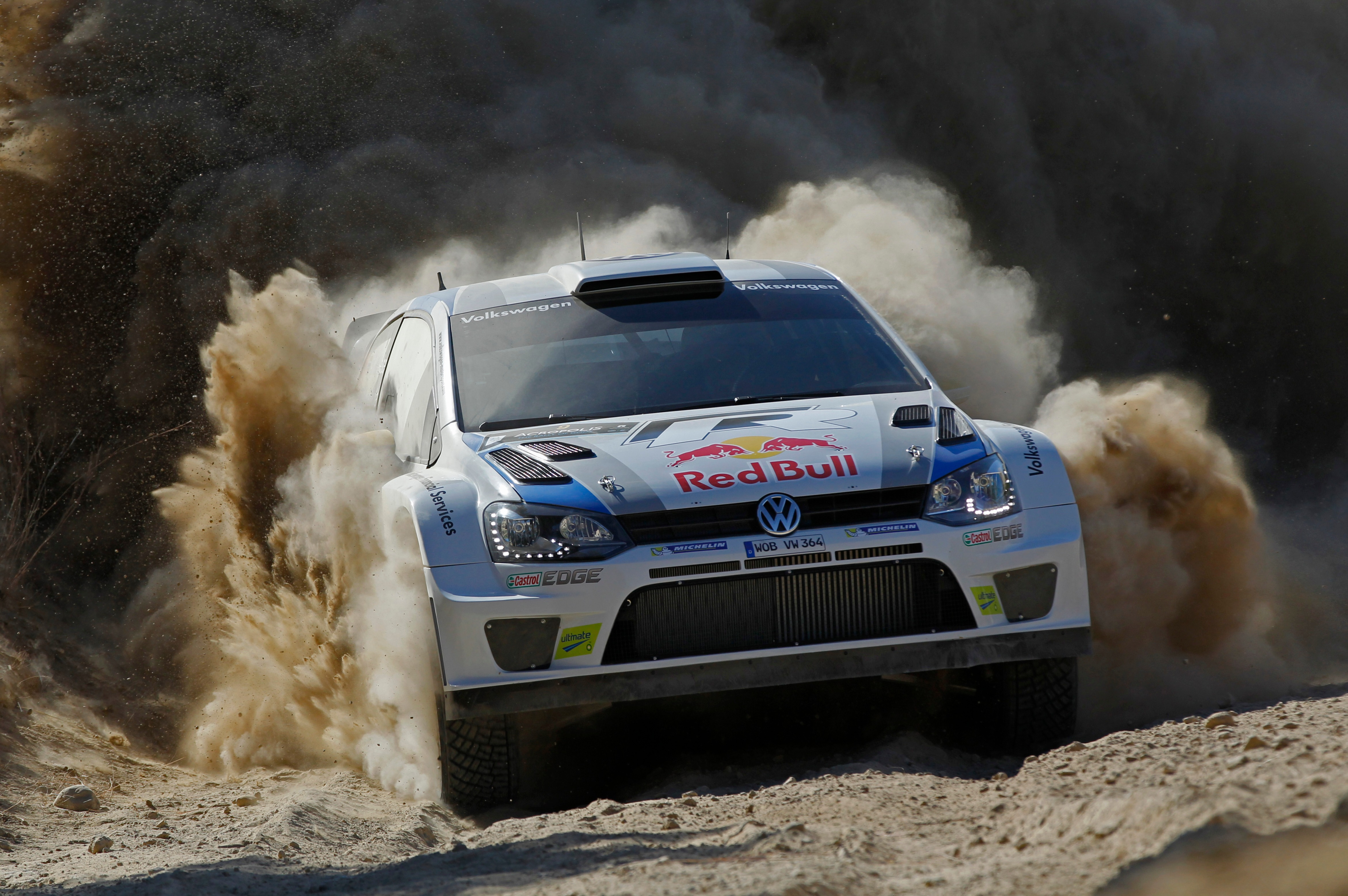 Andreas Mikkelsen, WRC Acropolis Rally 2013