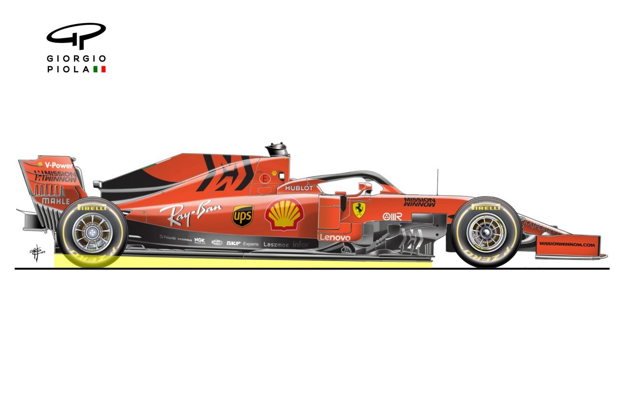 Ferrari SF1000 rake