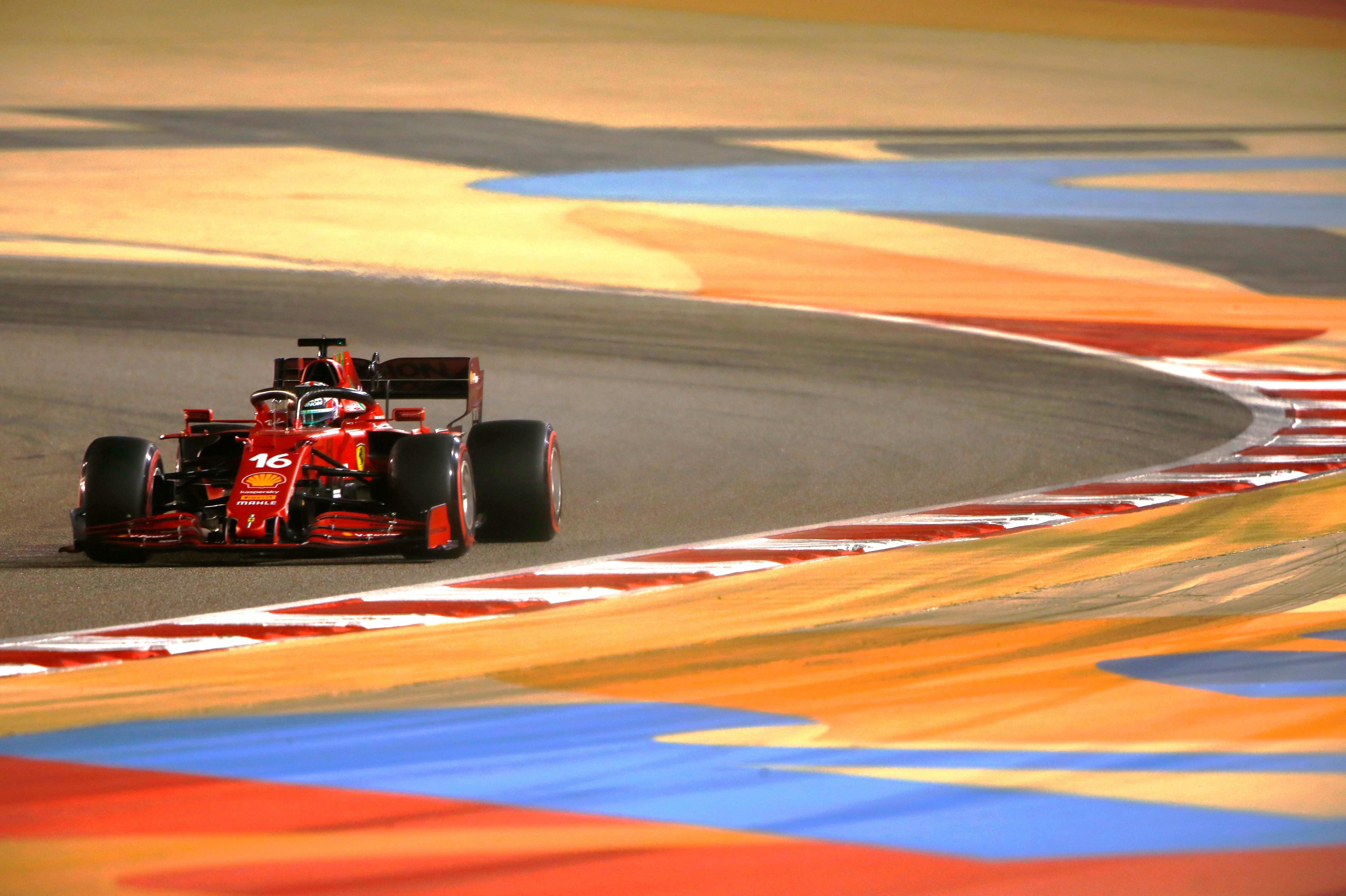Charles Leclerc, Ferrari, Bahrain Grand Prix