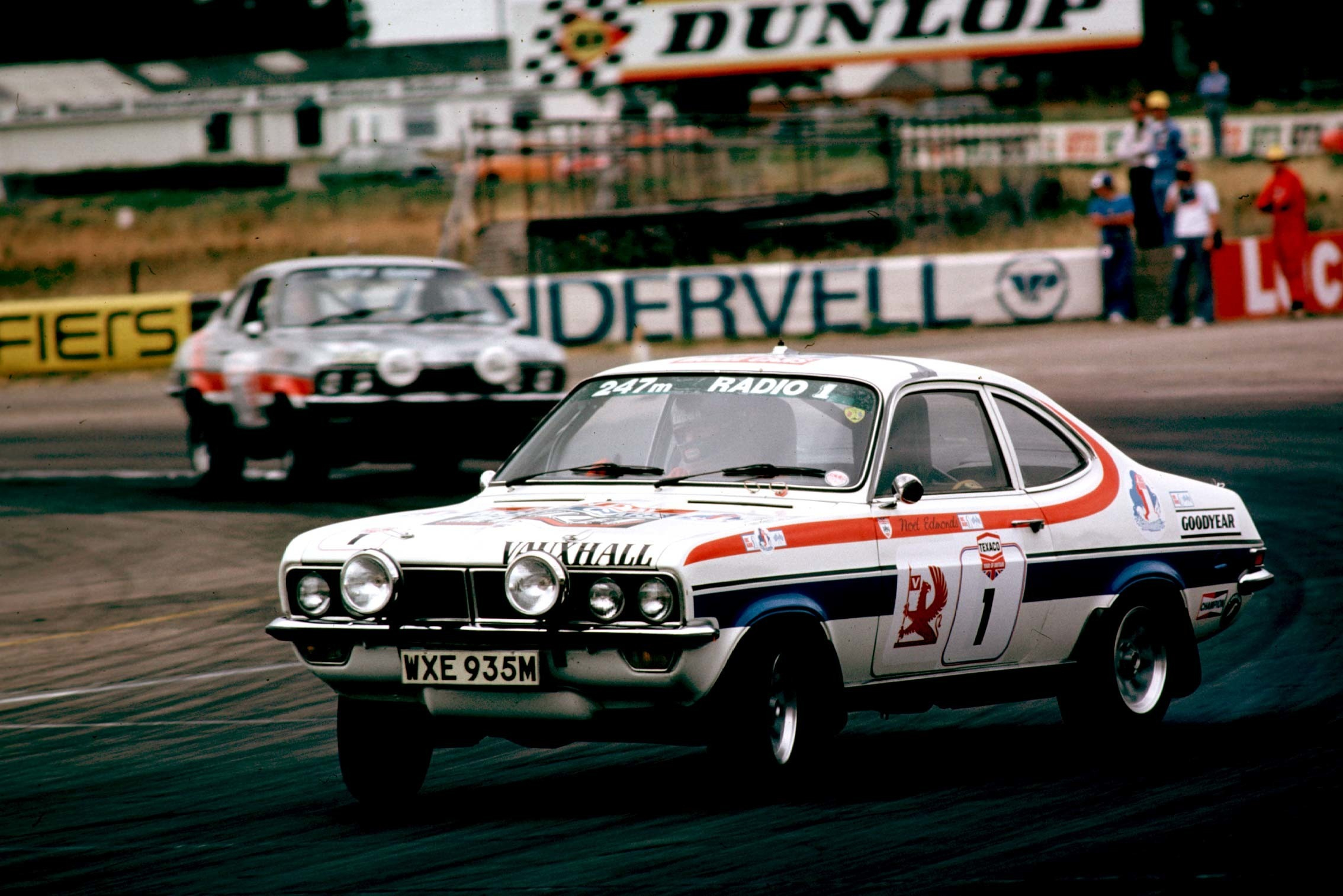 James Hunt (Vauxhall) which he shared with Noel Edmonds in the 1976 Tour of Britain.