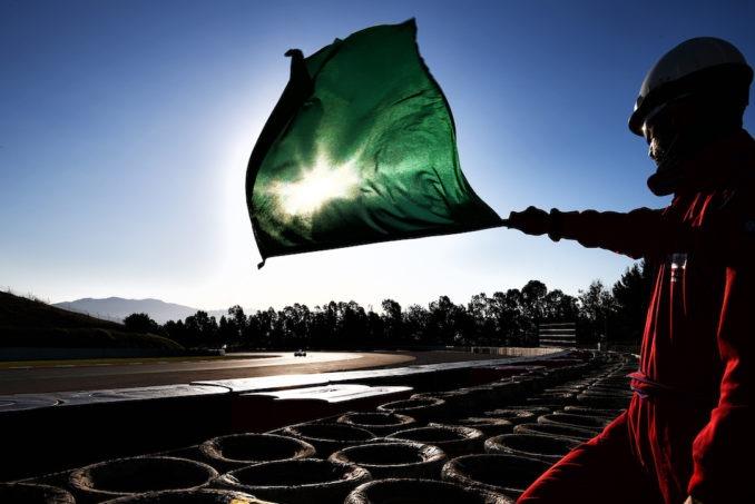 العلم الأخضر
