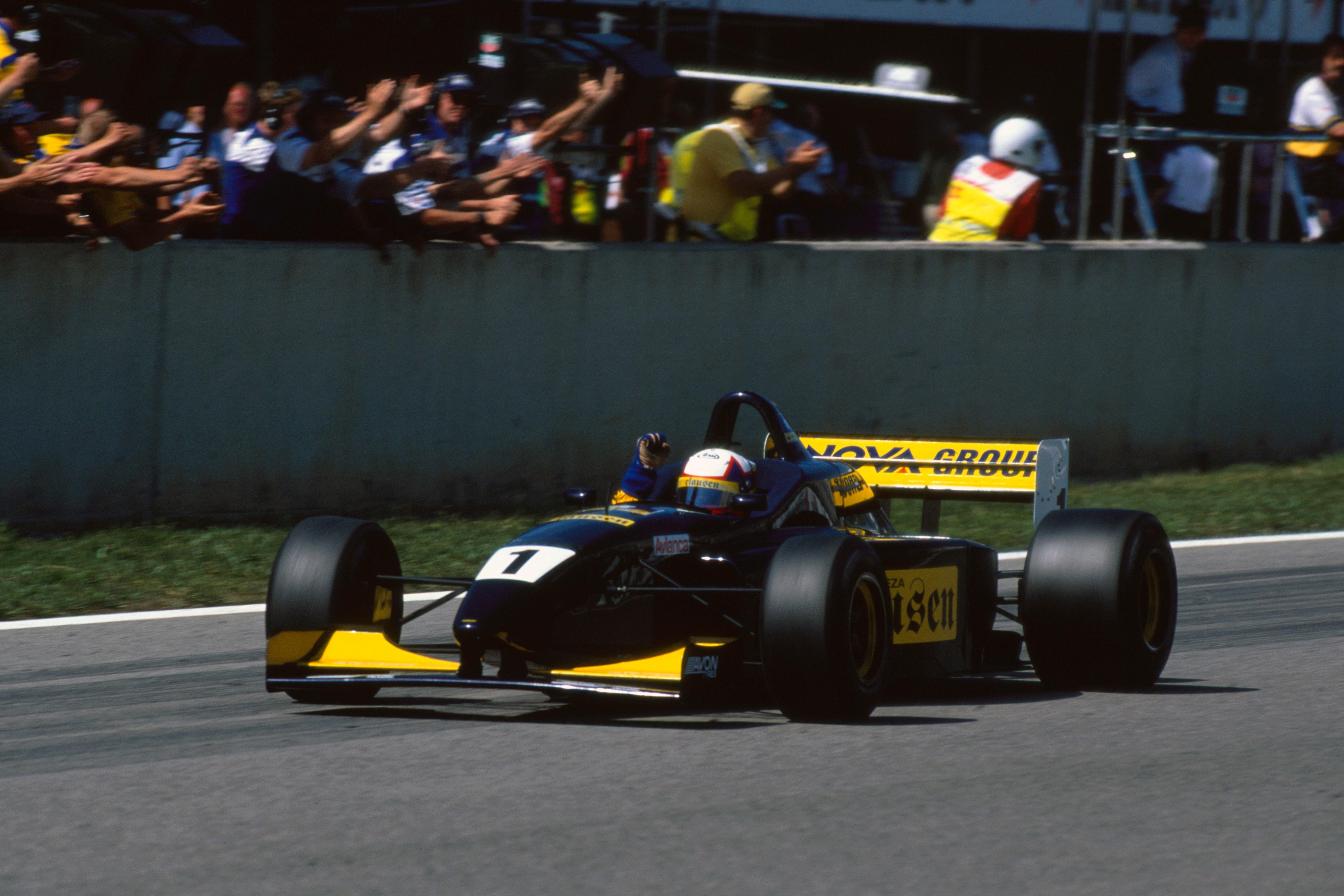 Juan Pablo Montoya F3000 Barcelona 1998
