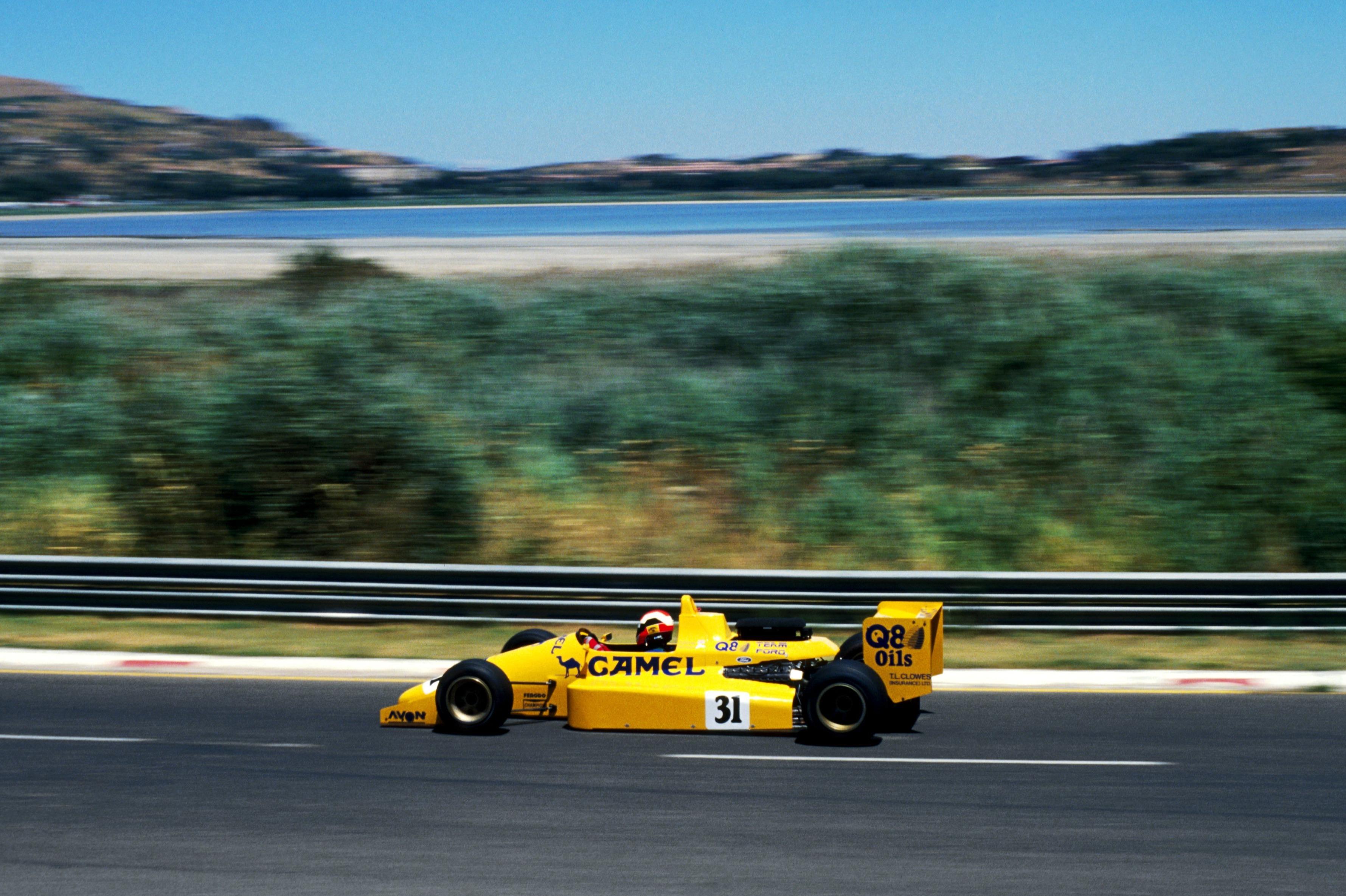 Johnny Herbert 1988 F3000 Enna