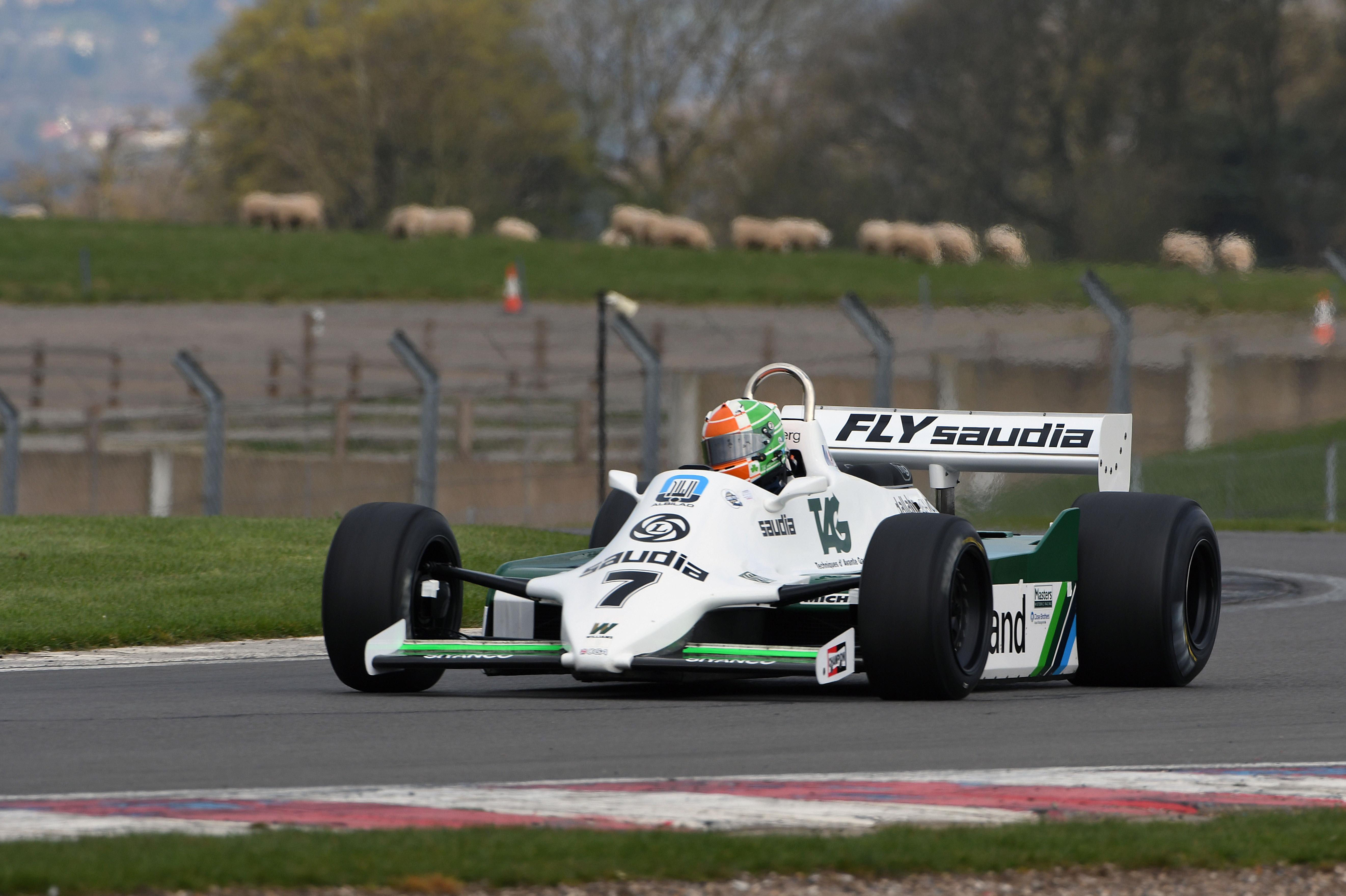 Williams F1 demo, Donington 2021