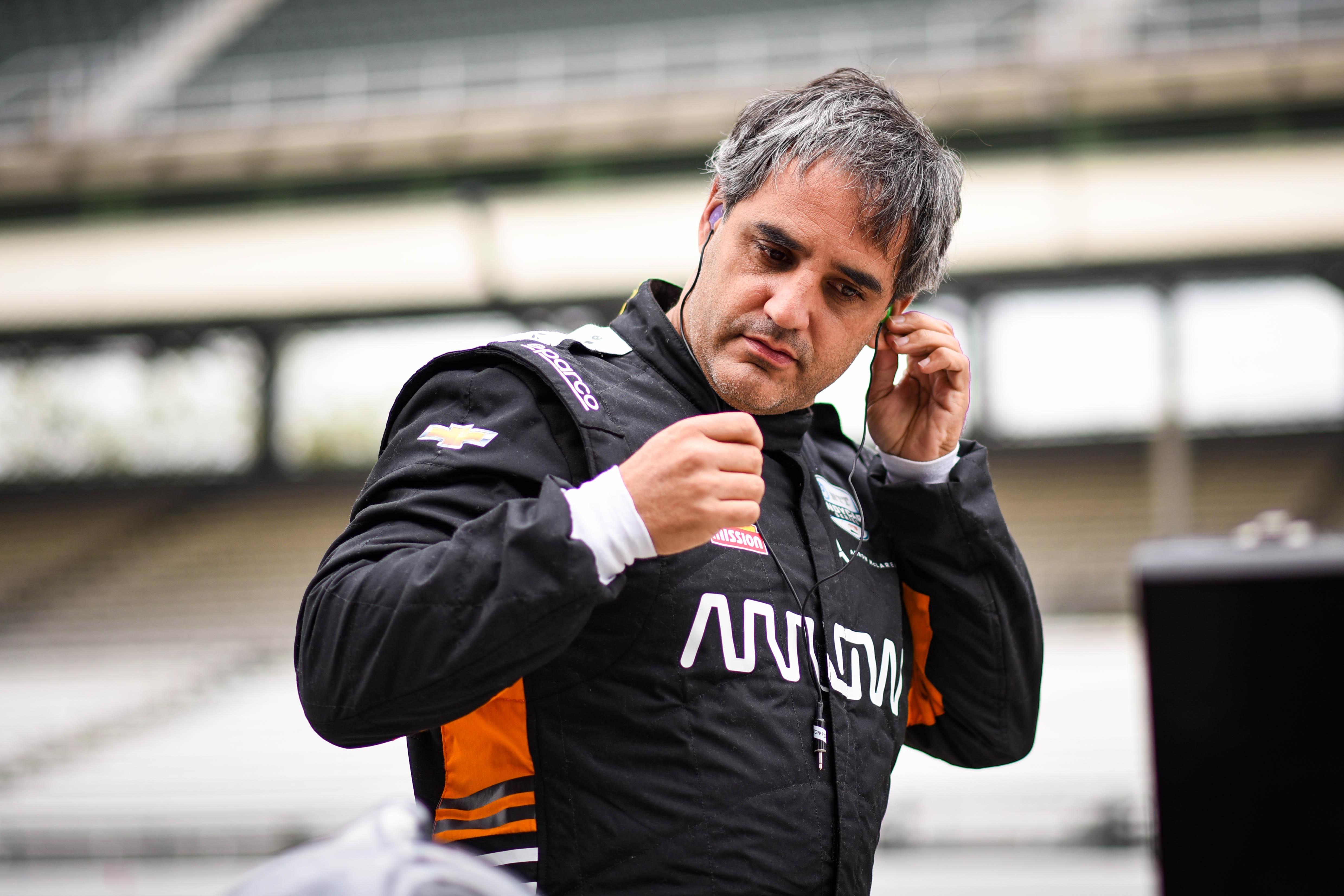 Juan Pablo Montoya, Indy 500 testing 2021