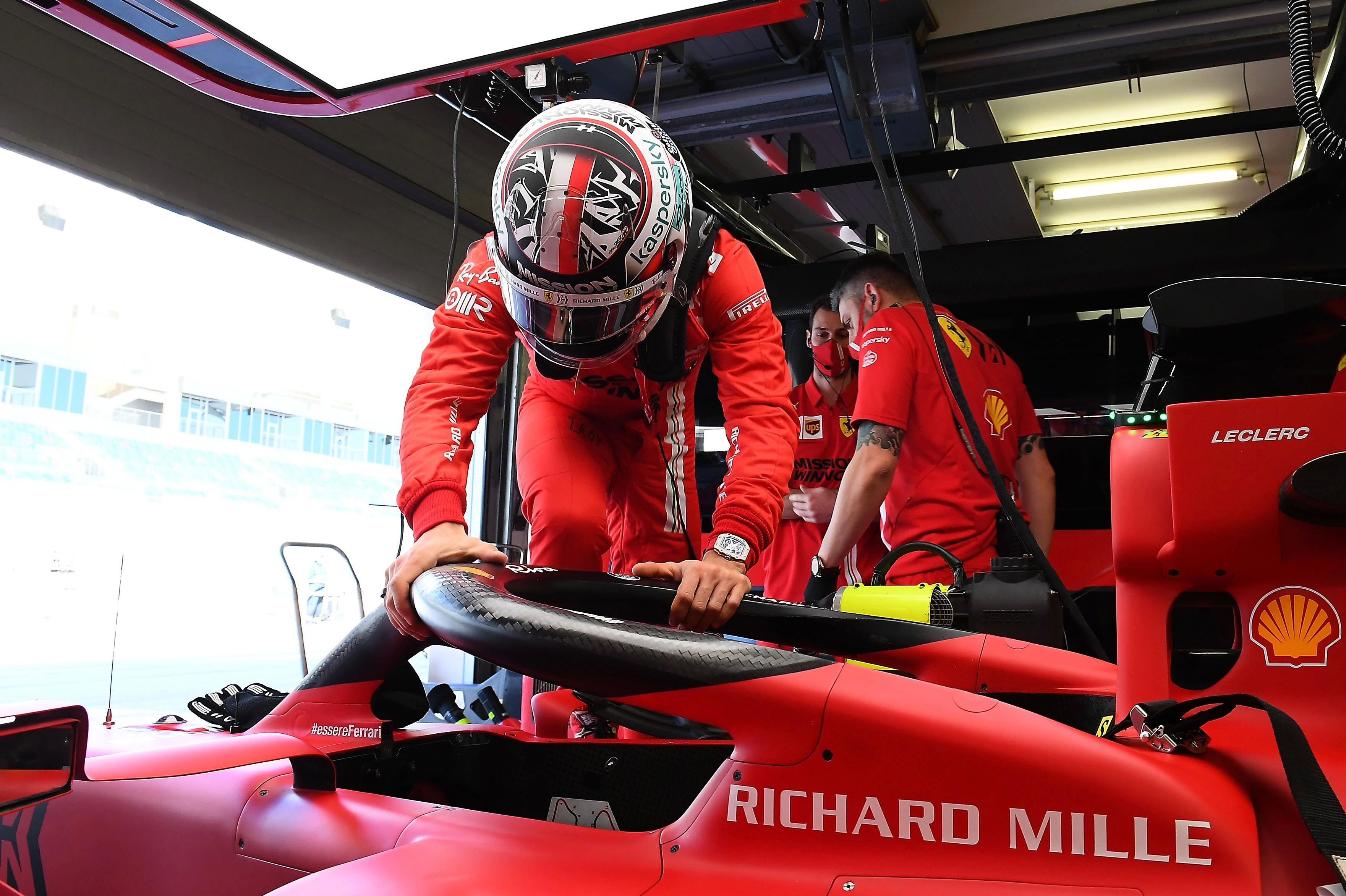 Charles Leclerc, Bahrain F1 testing 2021