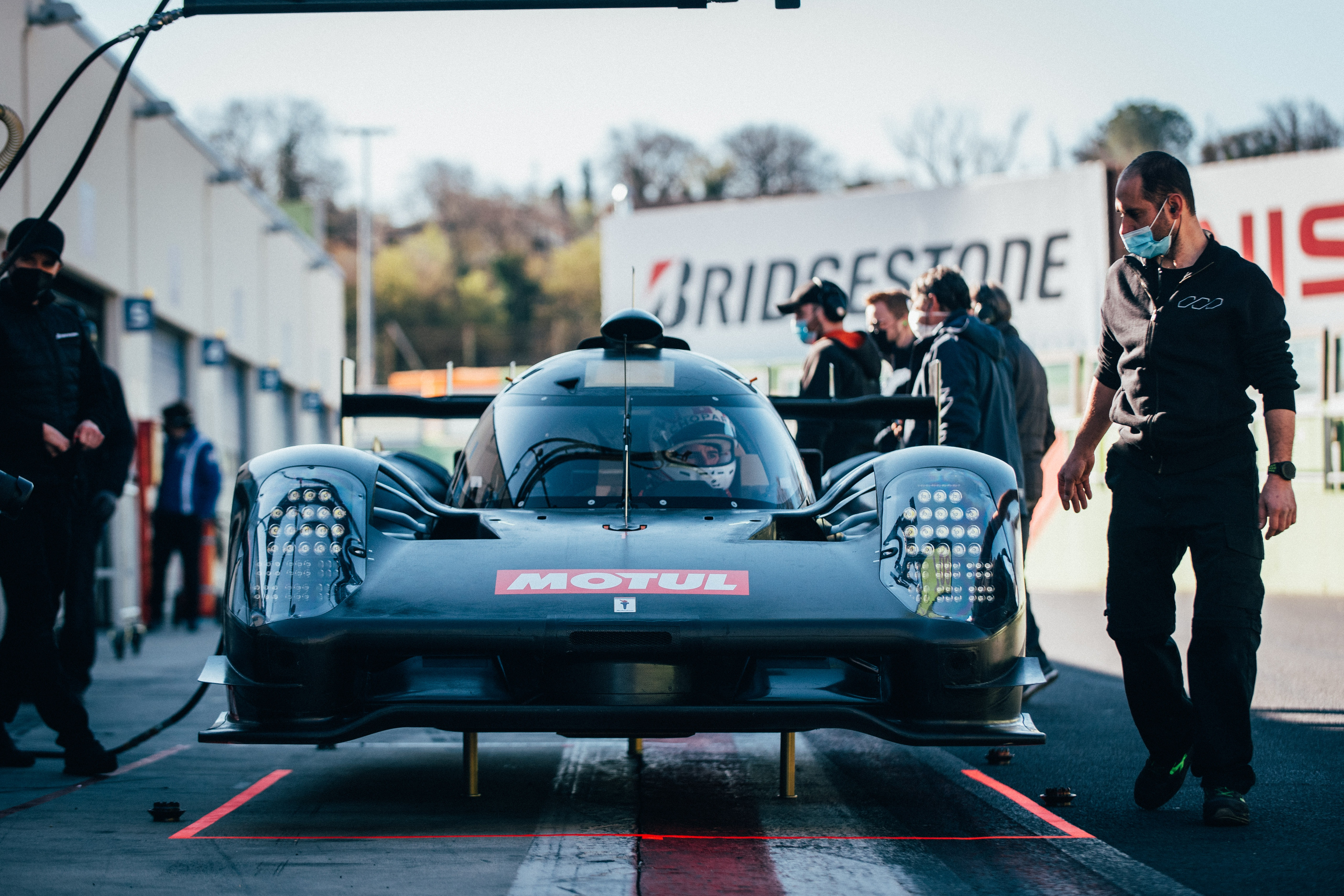 Glickenhaus Racing 007LMHs