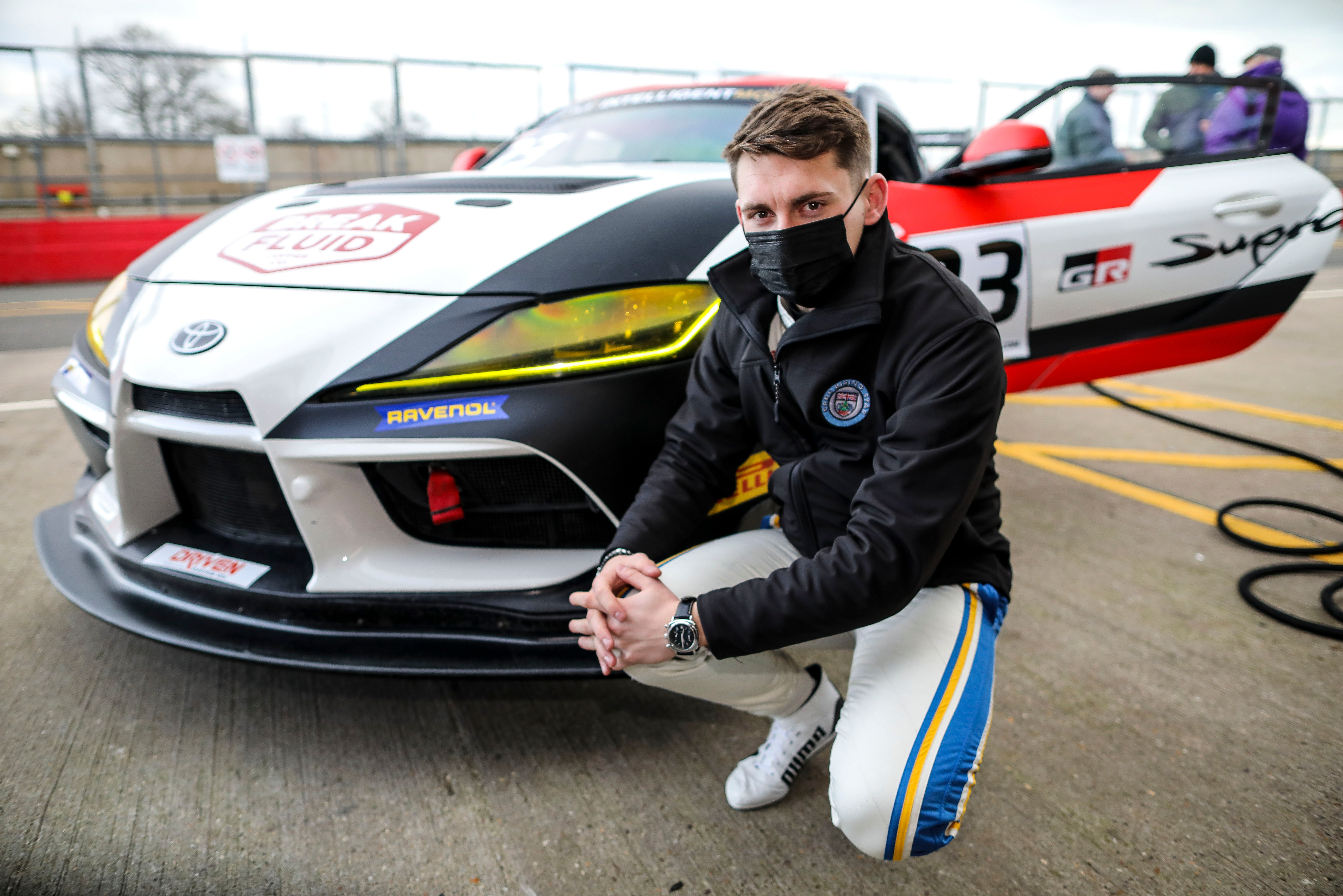 Scott McKenna is the first member of the Toyota Gazoo Racing UK Young Driver Programme