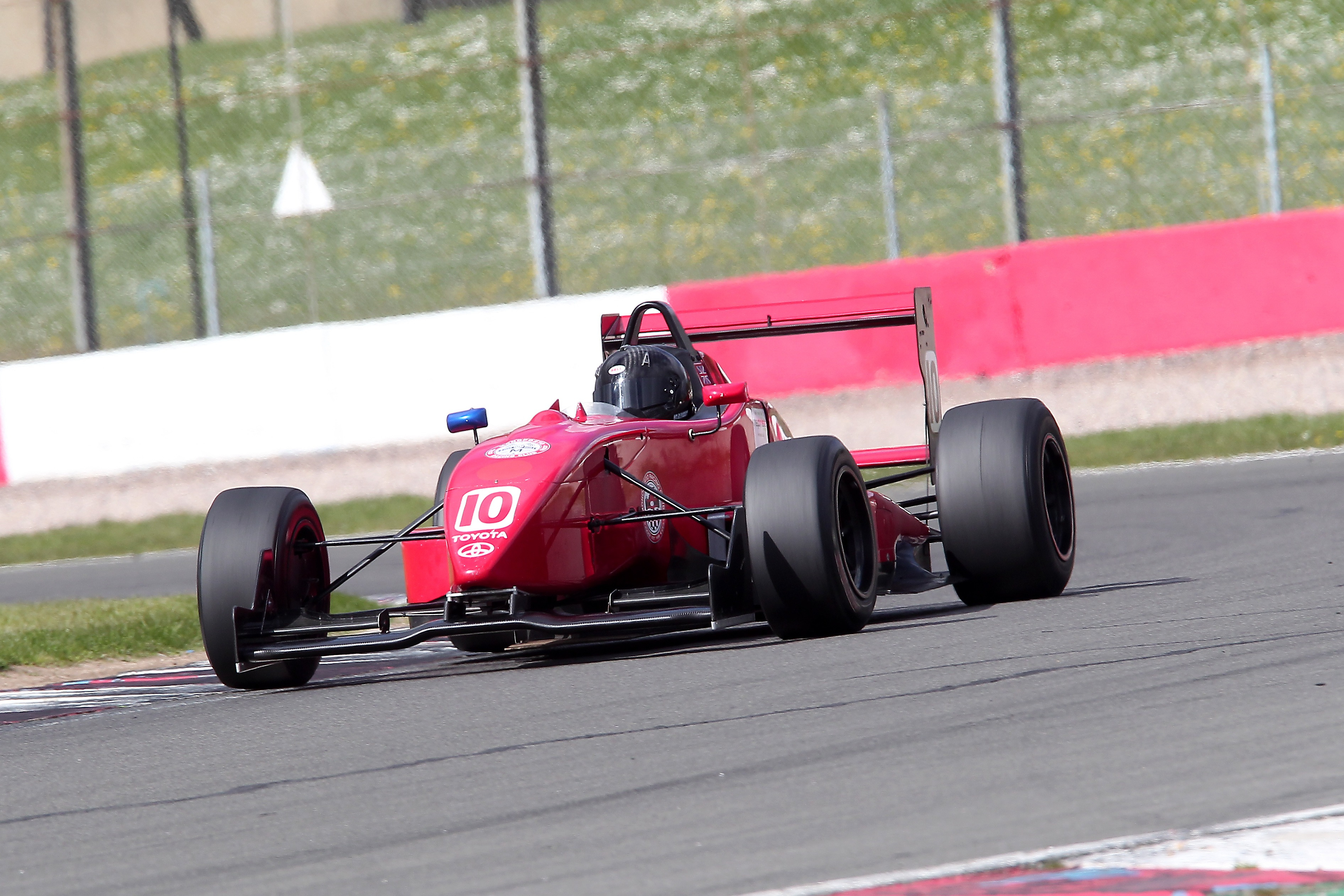 Neil Harrison had a mixed Monoposto event