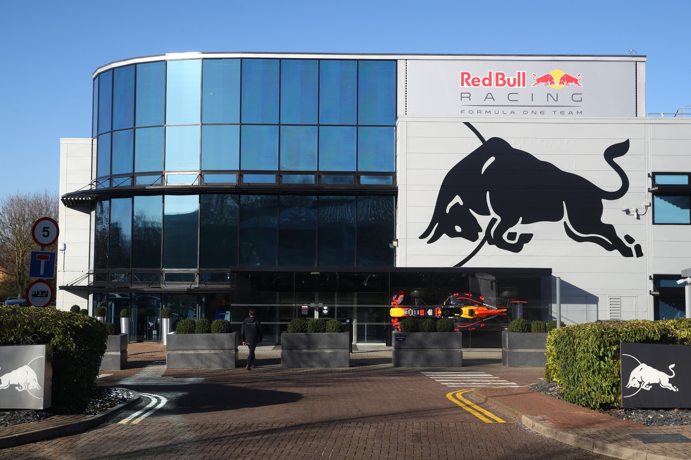 Red Bull Racing factory 2021