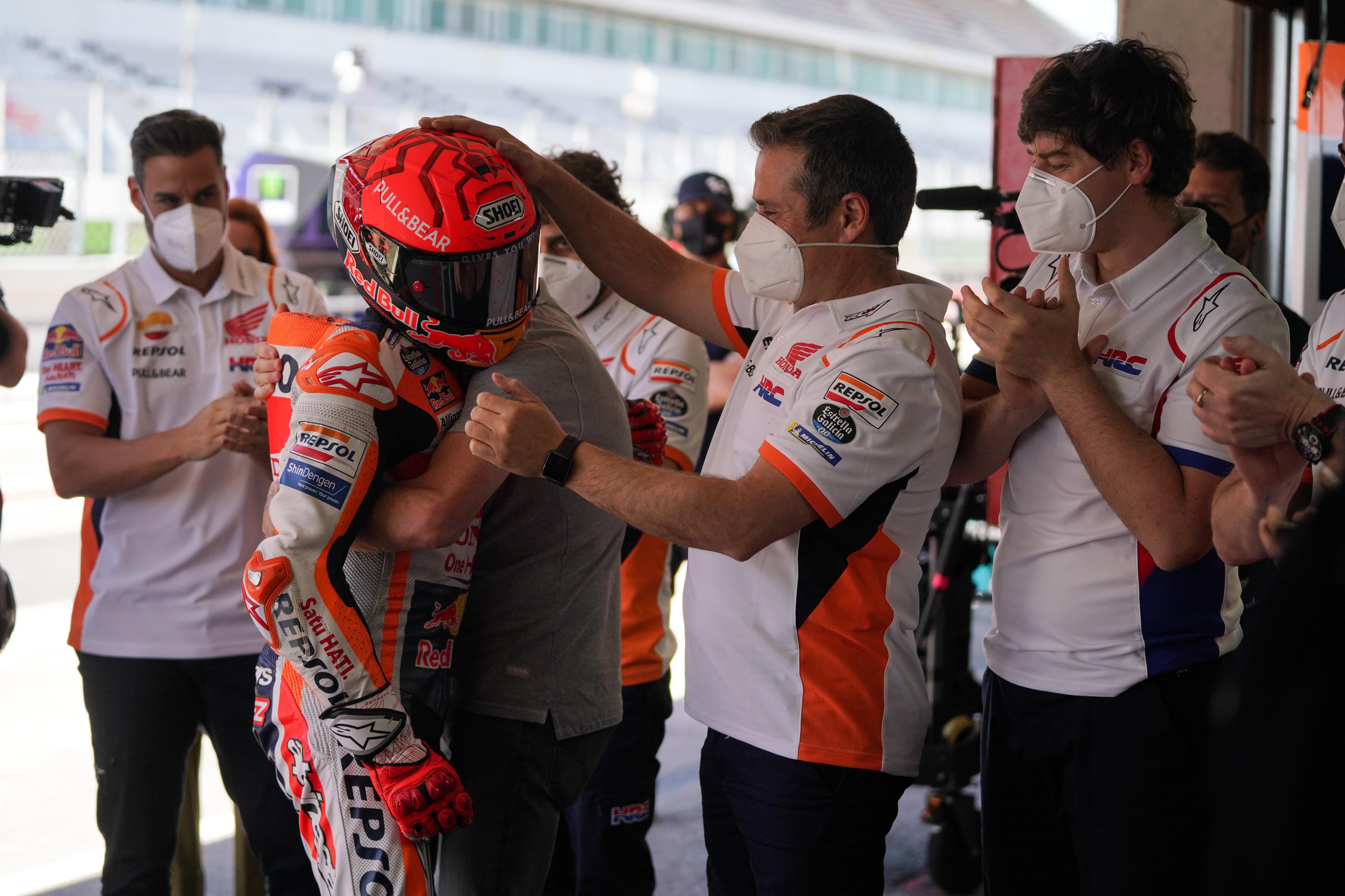Marc Marquez, Repsol Honda Team, MotoGP Portuguese GP 2021
