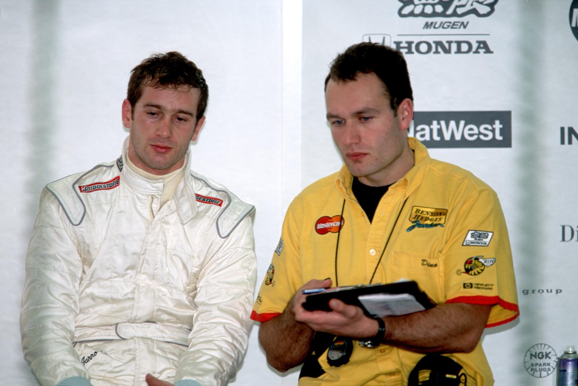 Jarno Trulli y Dino Toso en 1999