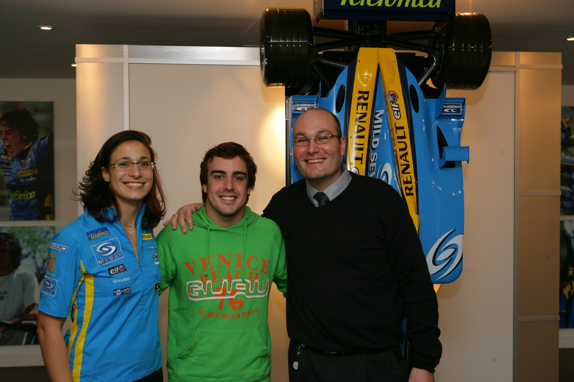 Nathalie Toso, Fernando Alonso, Dino Toso
