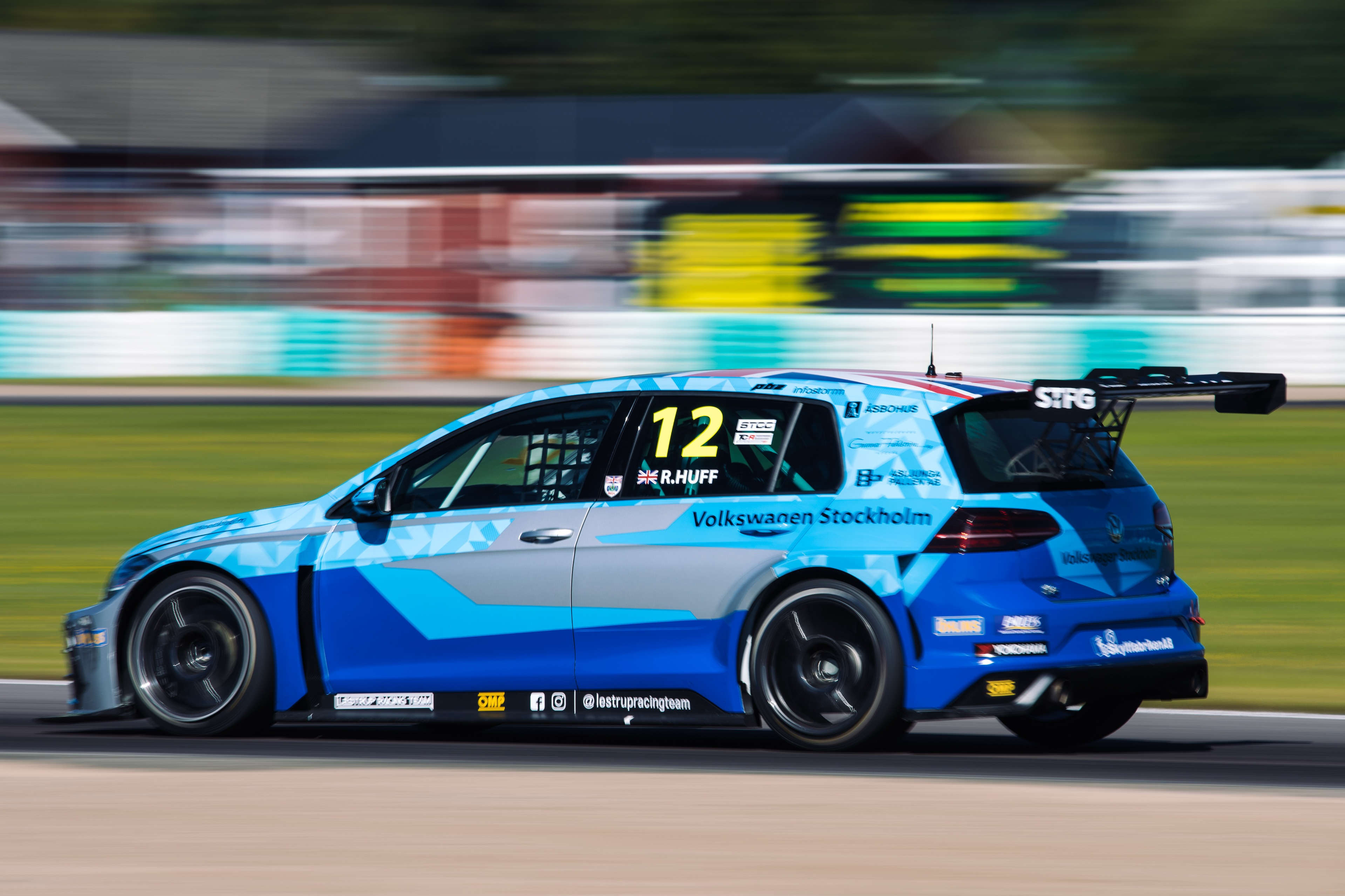 Rob Huff will return to defend his Scandinavian Touring Car Championship TCR title with Lestrup Racing Team