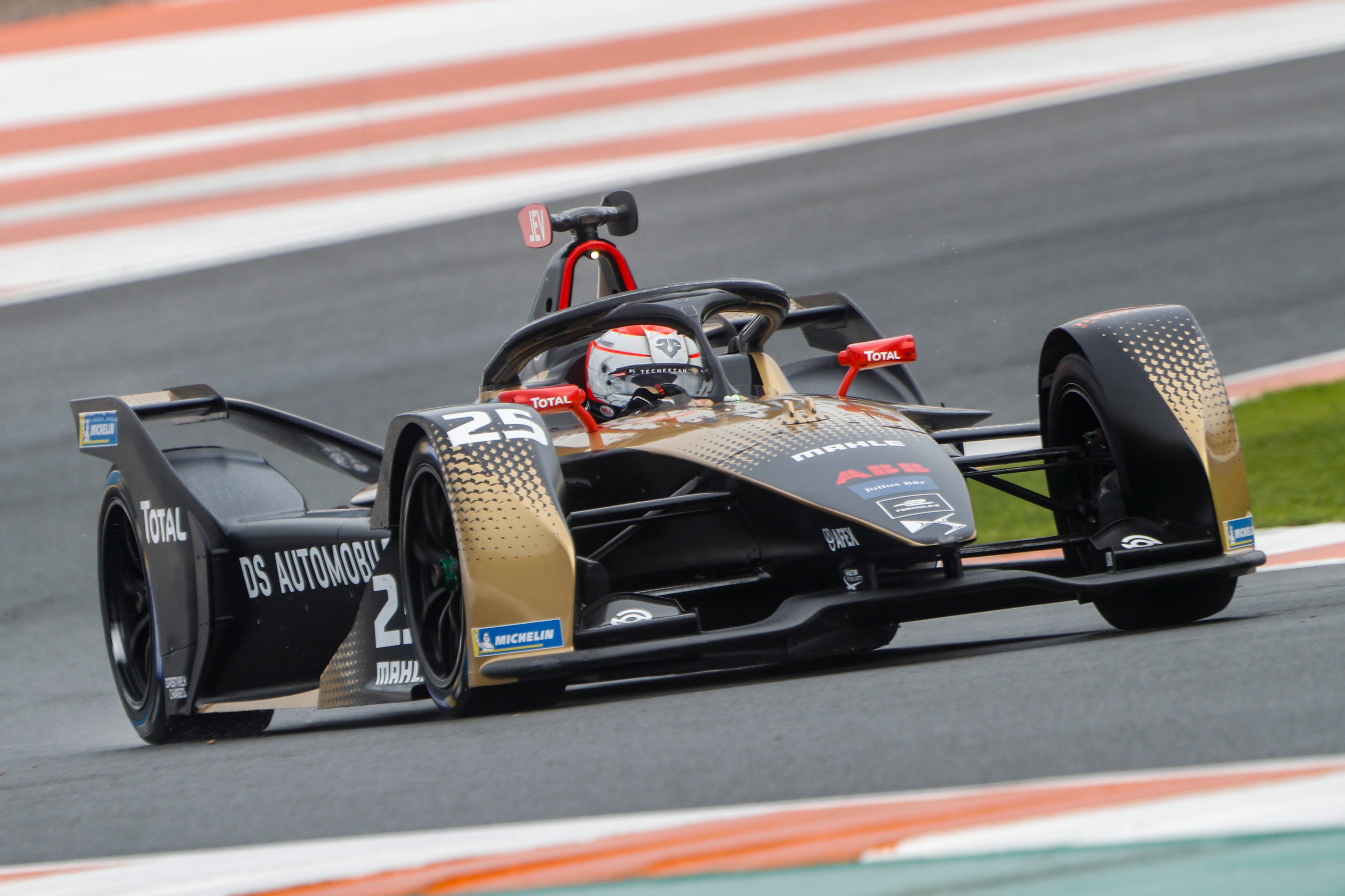 Jean-Eric Vergne, DS Techeetah Valencia test 2020