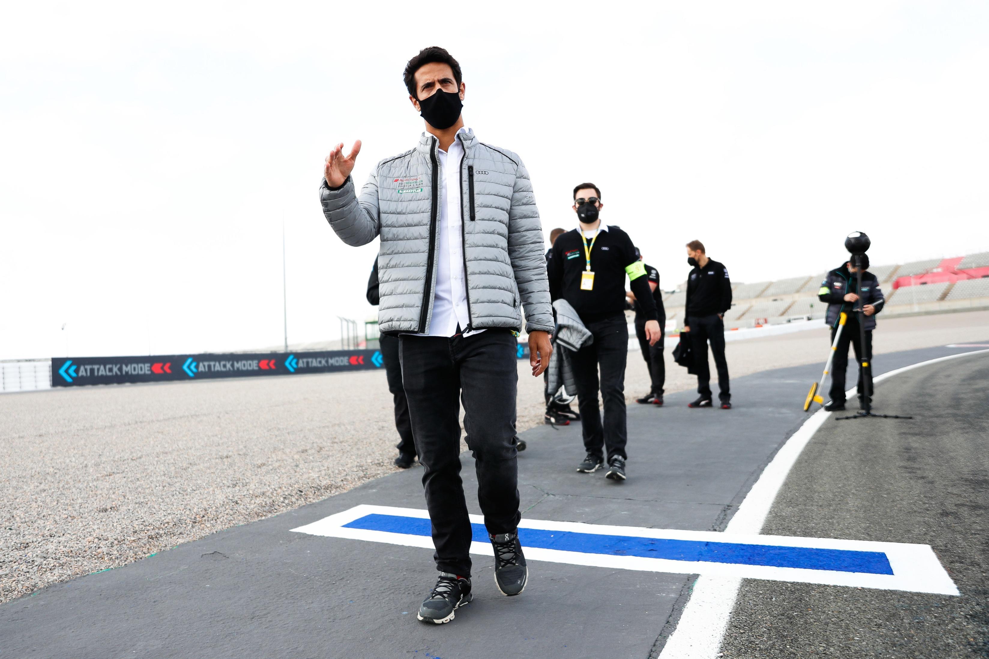 Lucas di Grassi, Valencia E-Prix 2021