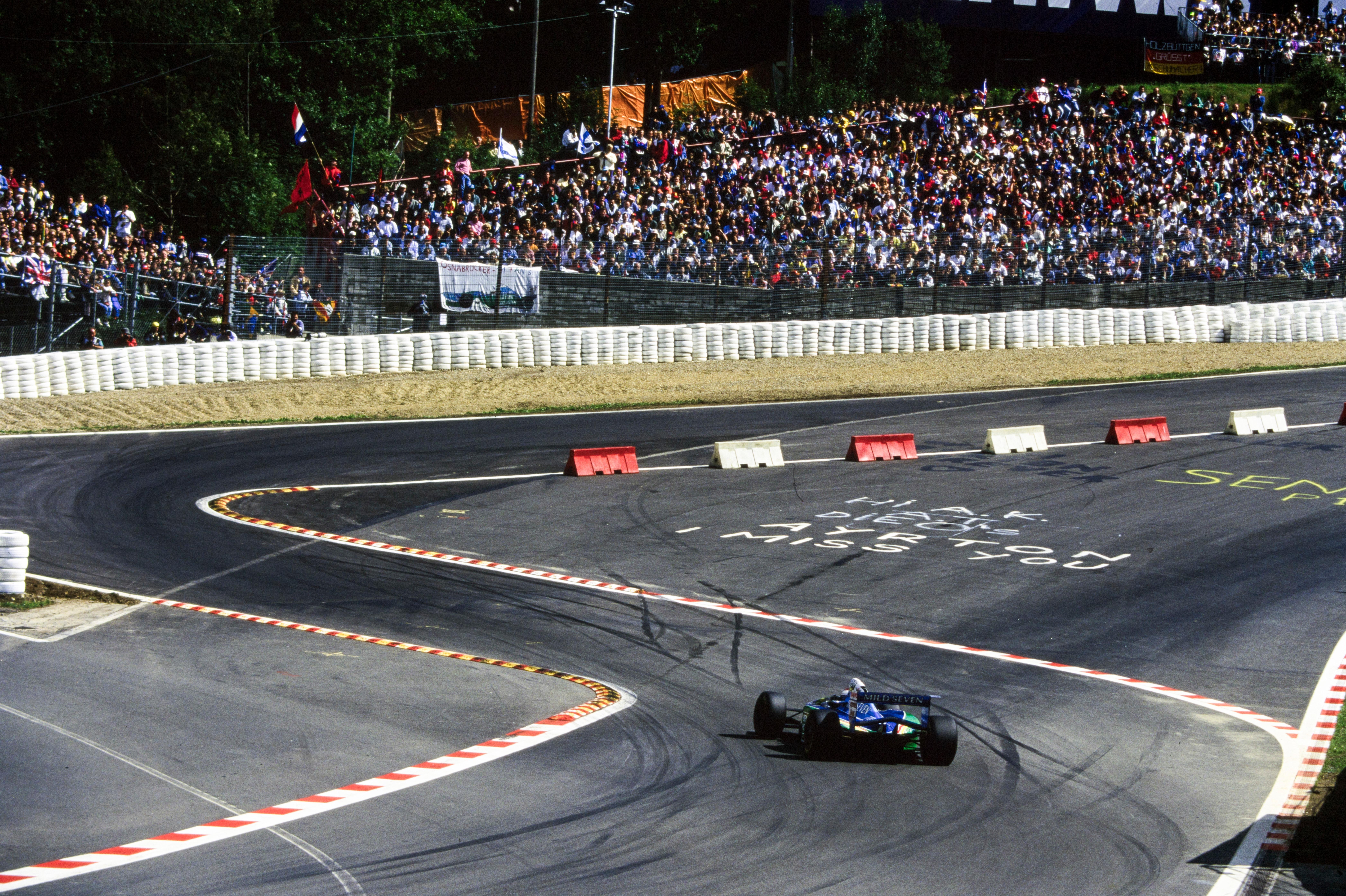 Jos Verstappen, 1994 Belgian GP