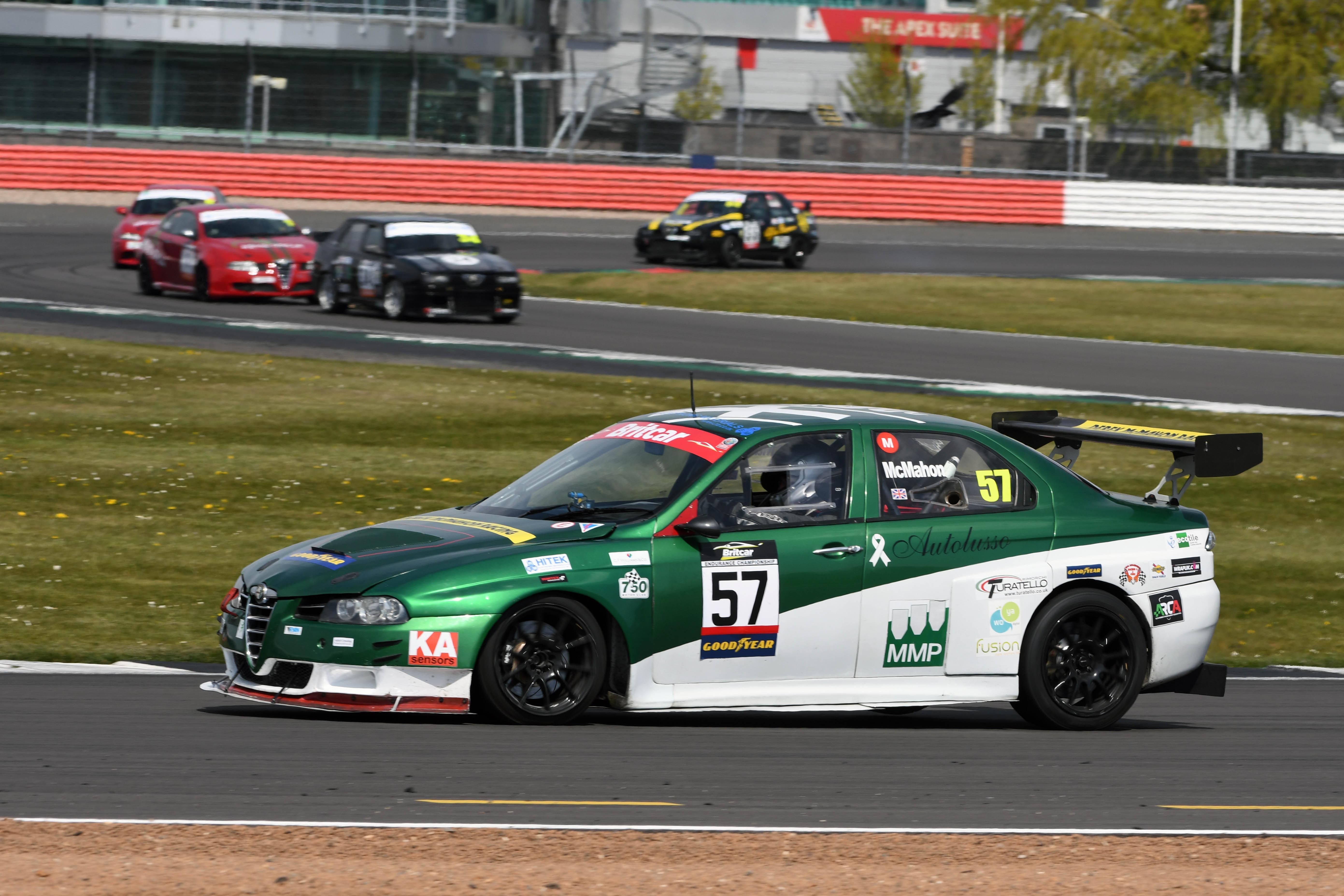 Barry McMahon (Alfa Romeo 156), Alfa Romeo Championship, Silverstone