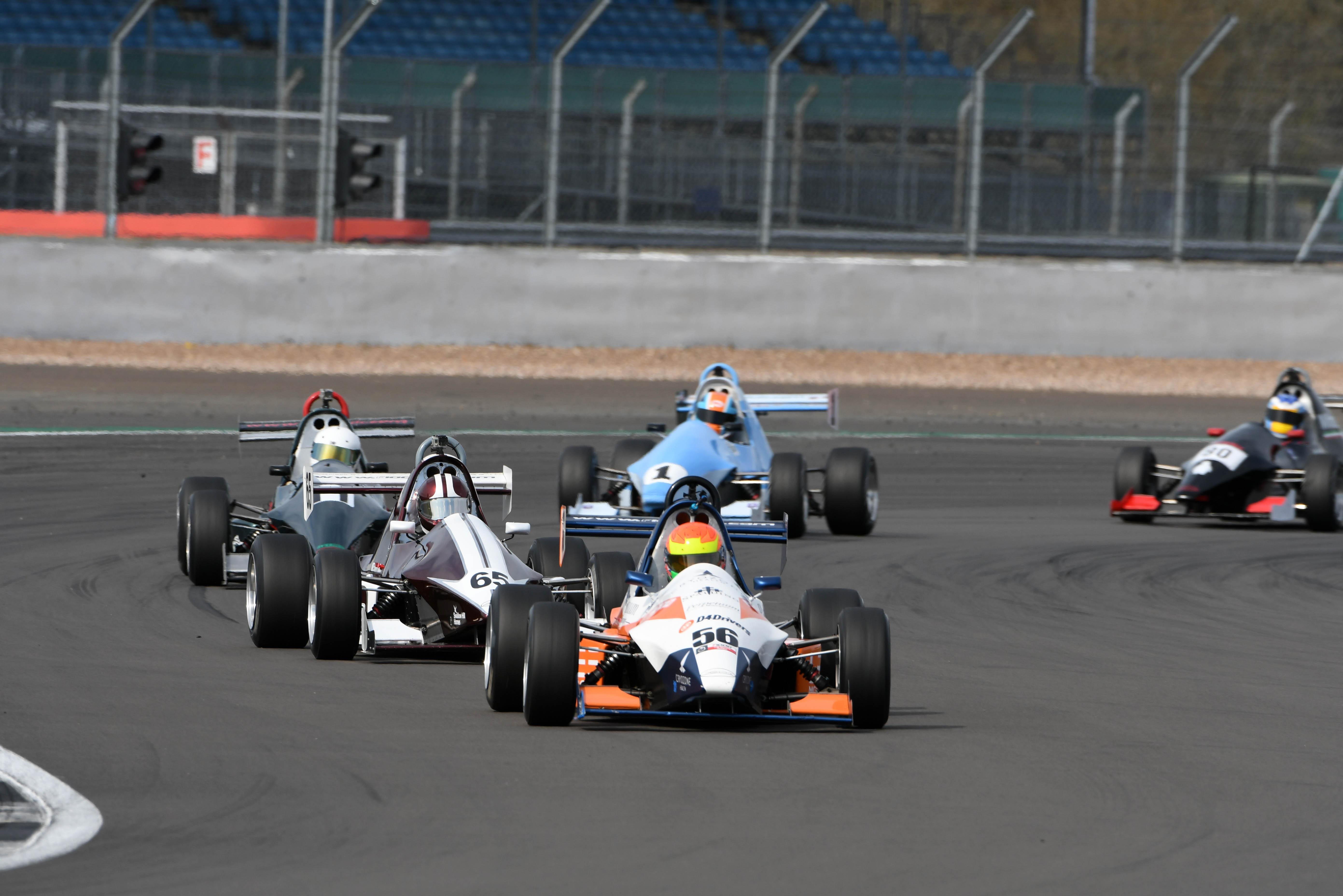 Lee Morgan, F1000 Championship, Silverstone