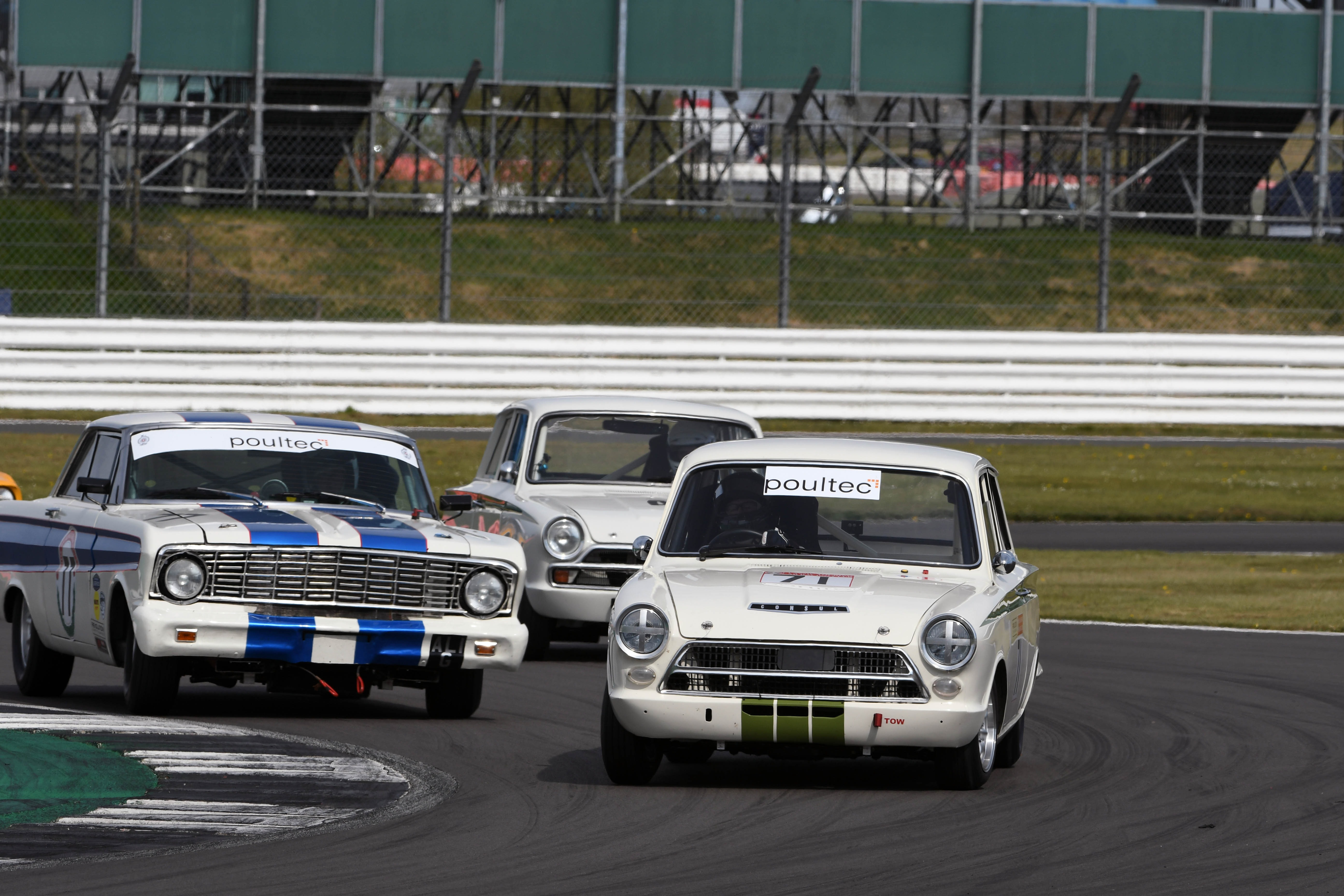 Peter Smith (Lotus Cortina), Pre-'66 Touring Cars, Silverstone