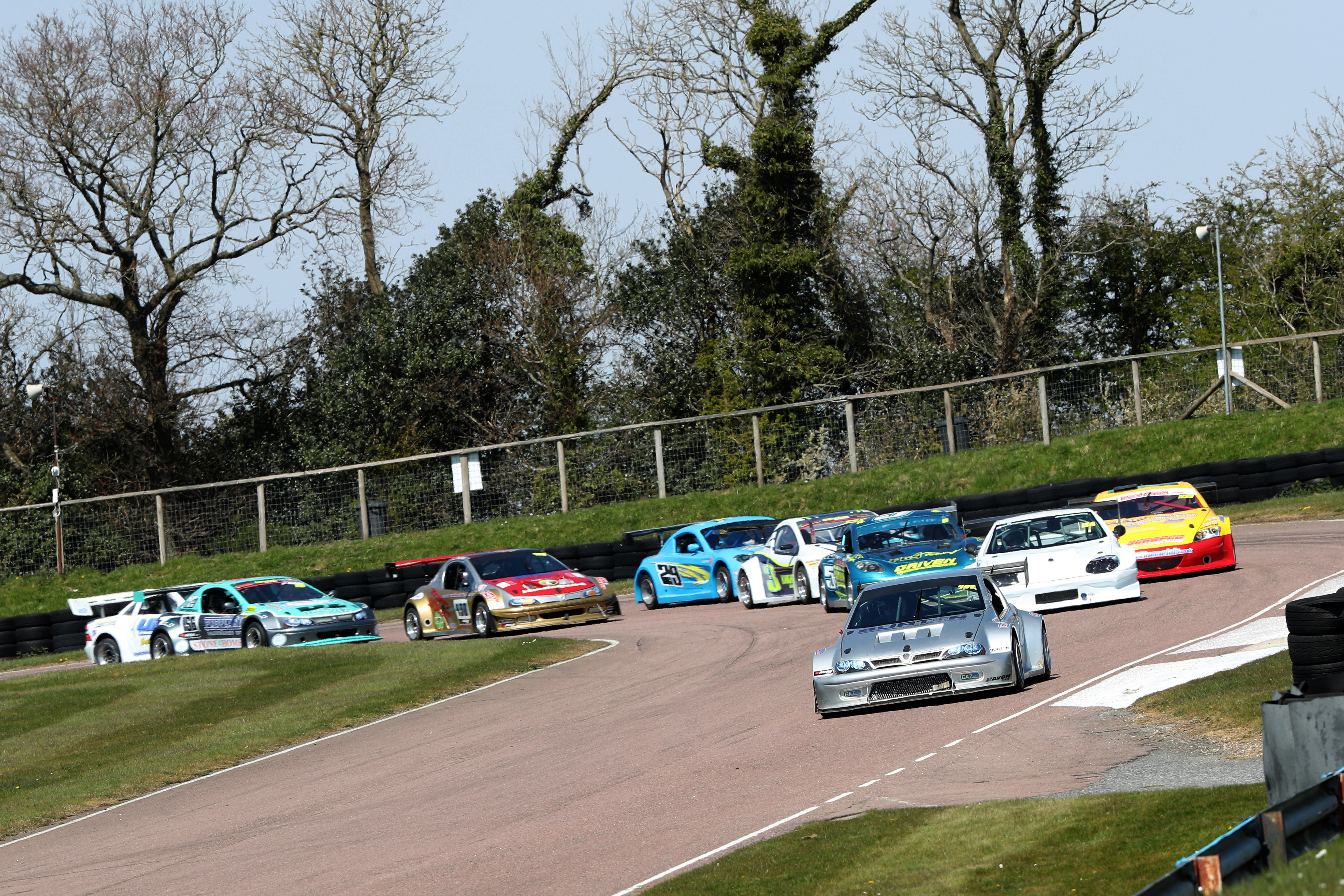 Colin Smith (Vauxhall Tigra), Intermarque Silhouettes, Lydden Hill