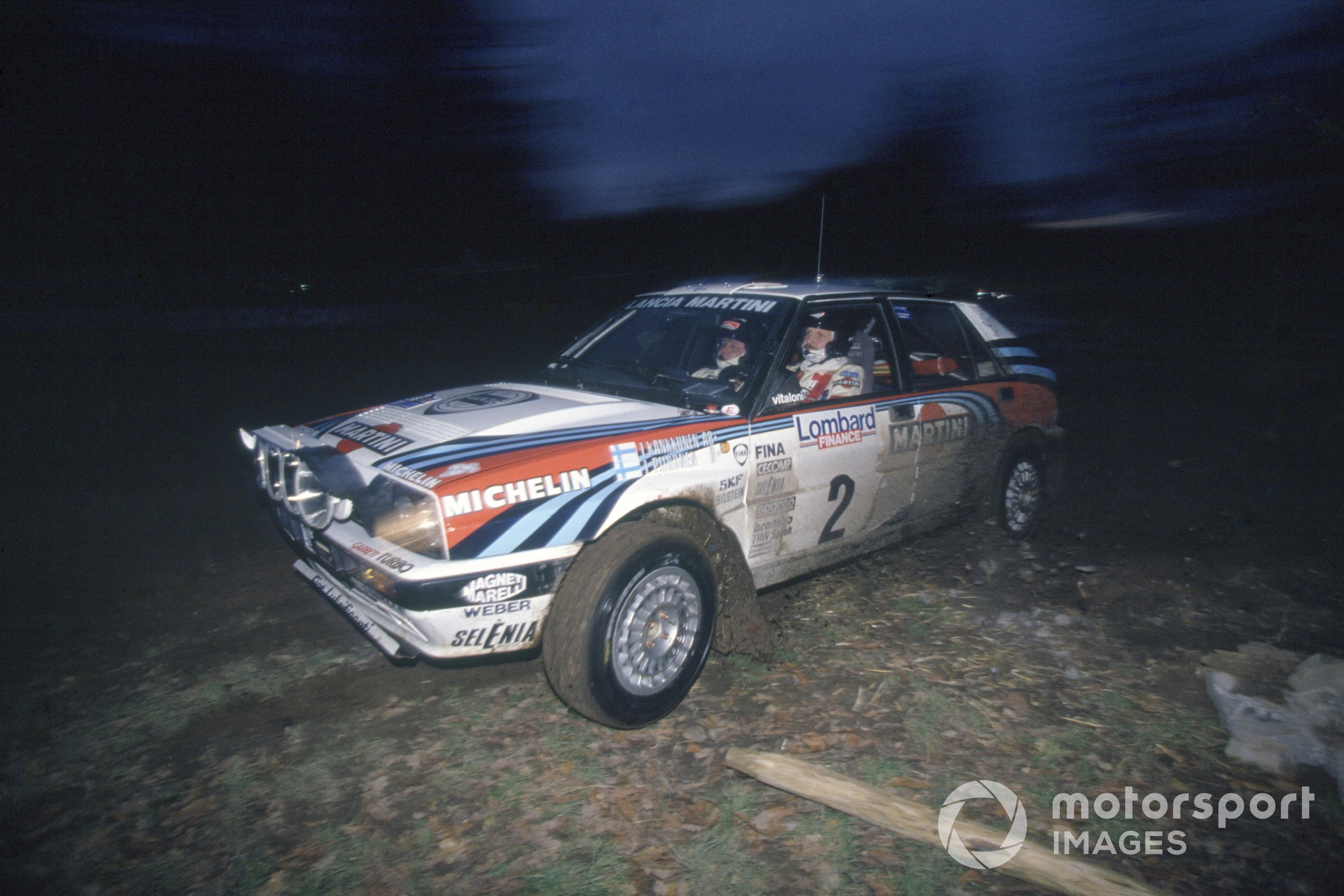 Juha Kankkunen and Juha Piironen were winners of the 1991 Lombard RAC Rally.