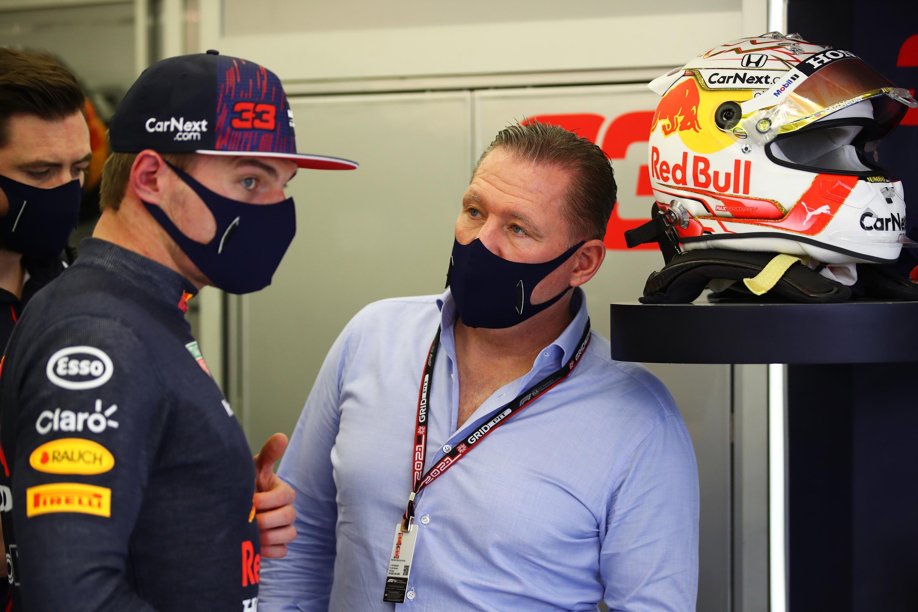 Jos Verstappen, Max Verstappen Bahrain 2021 testing