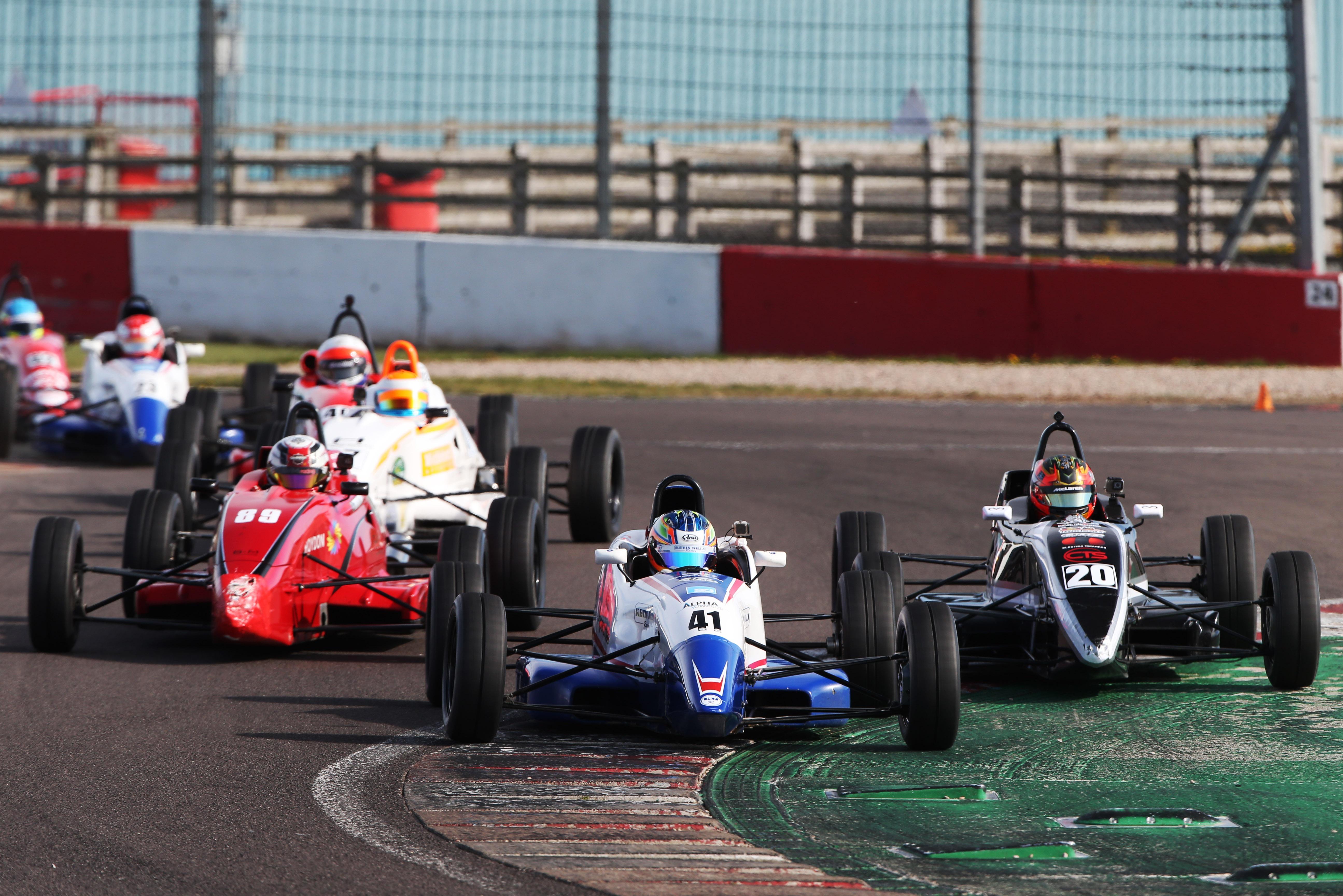 MSVR Heritage Formula Ford, Donington 2021