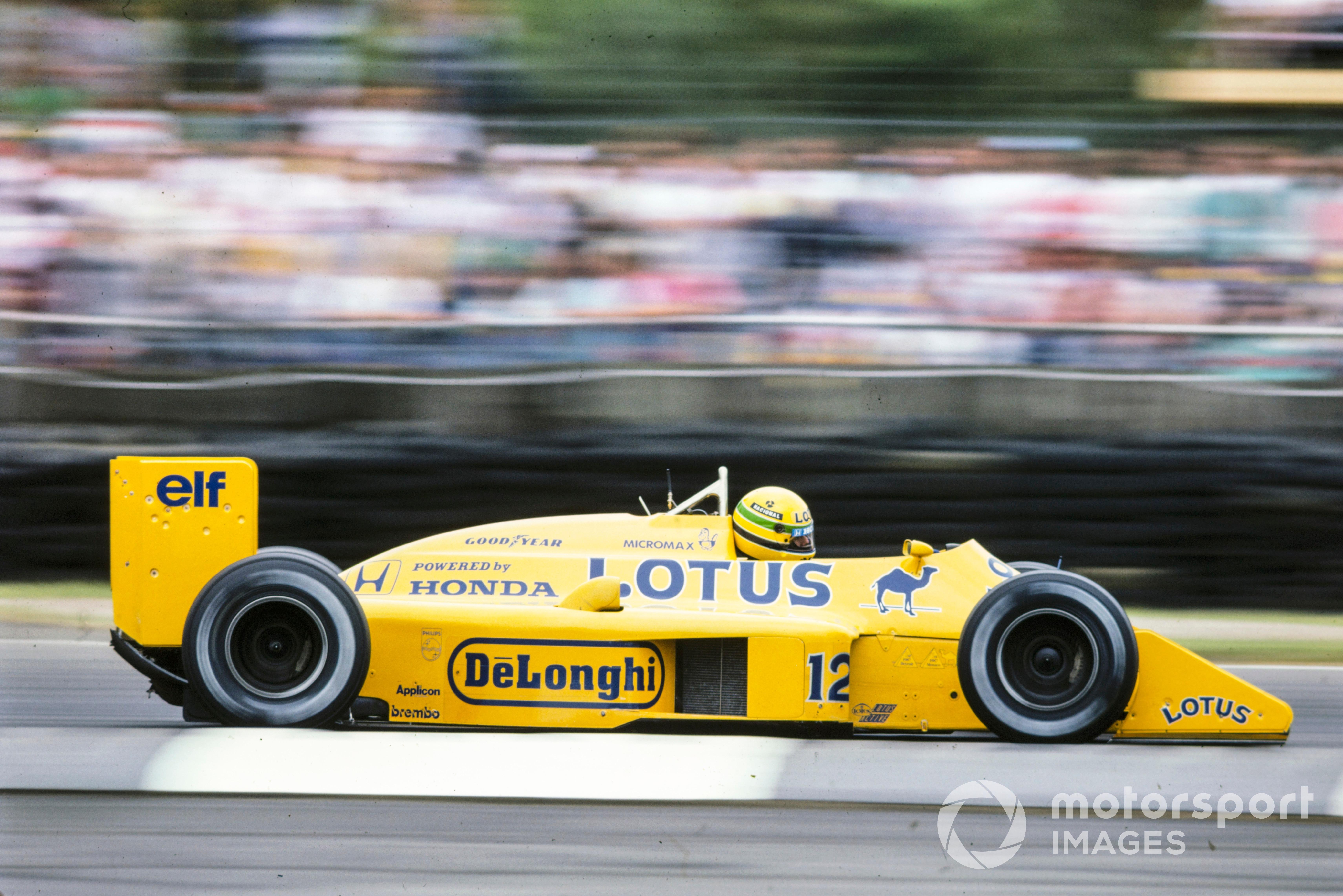 Ayrton Senna, Lotus 99T Honda