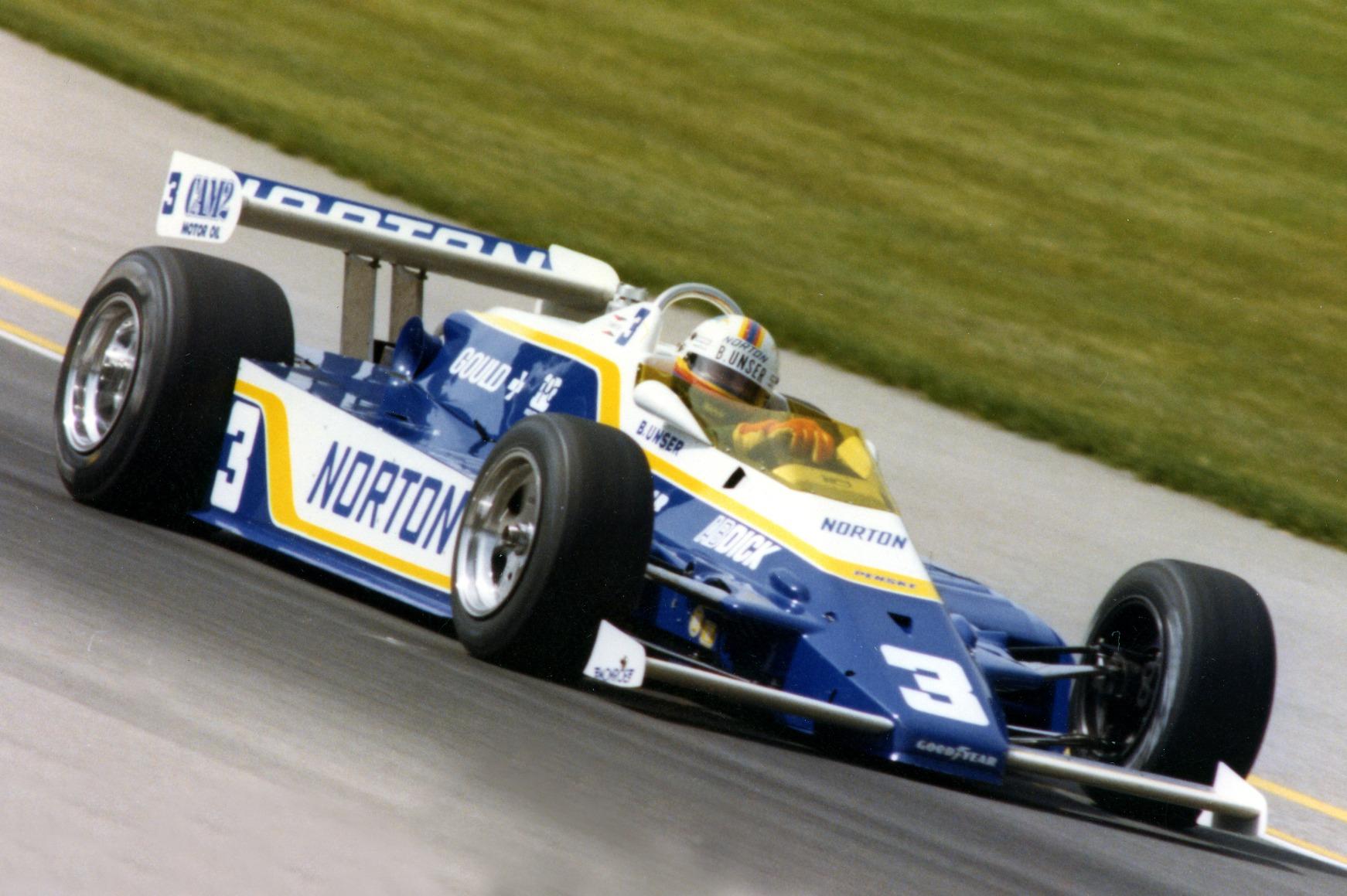 Bobby Unser 1981 Indy 500