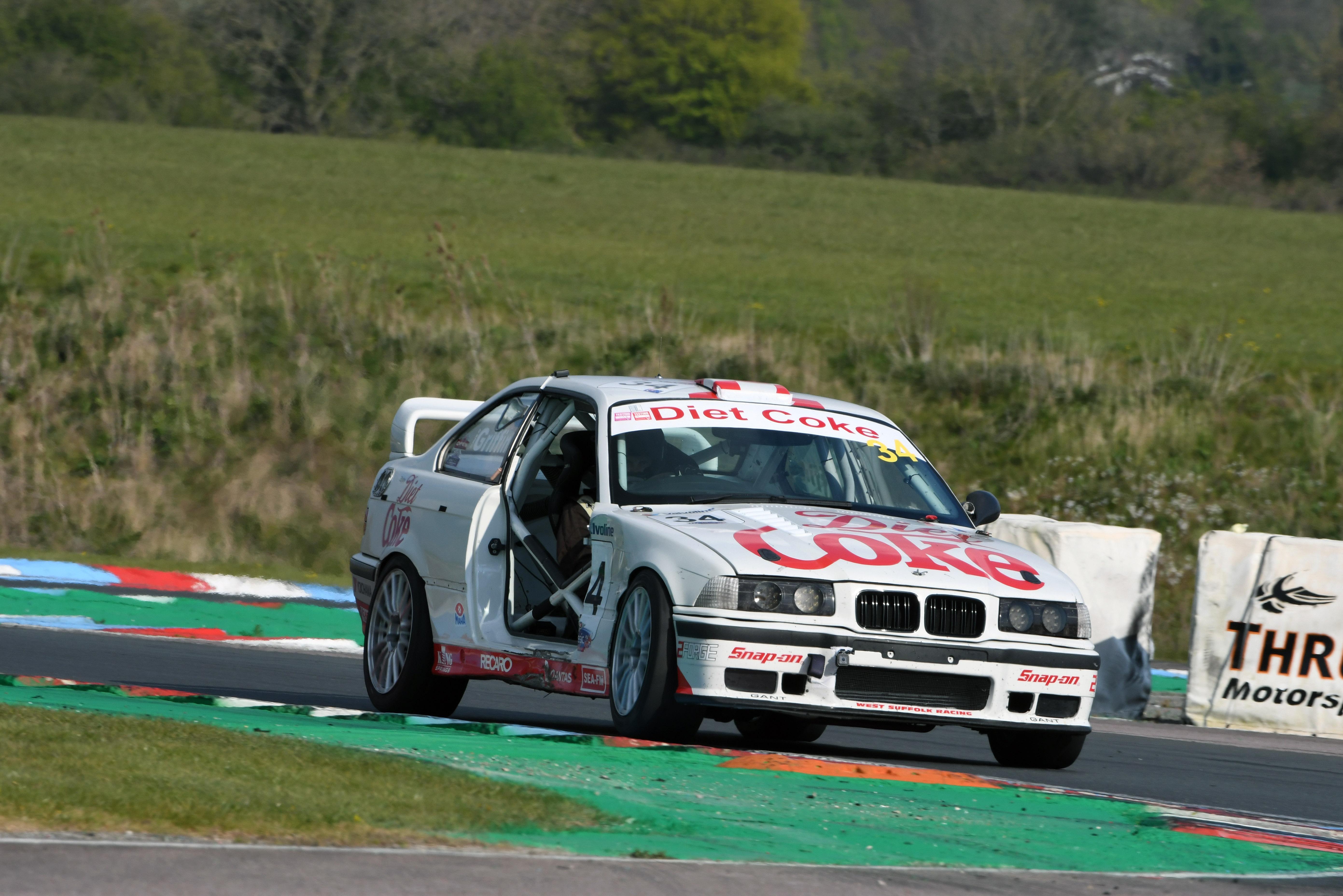 Dave Griffin, BMW E36 M3, Modern Classics, Thruxton 2021