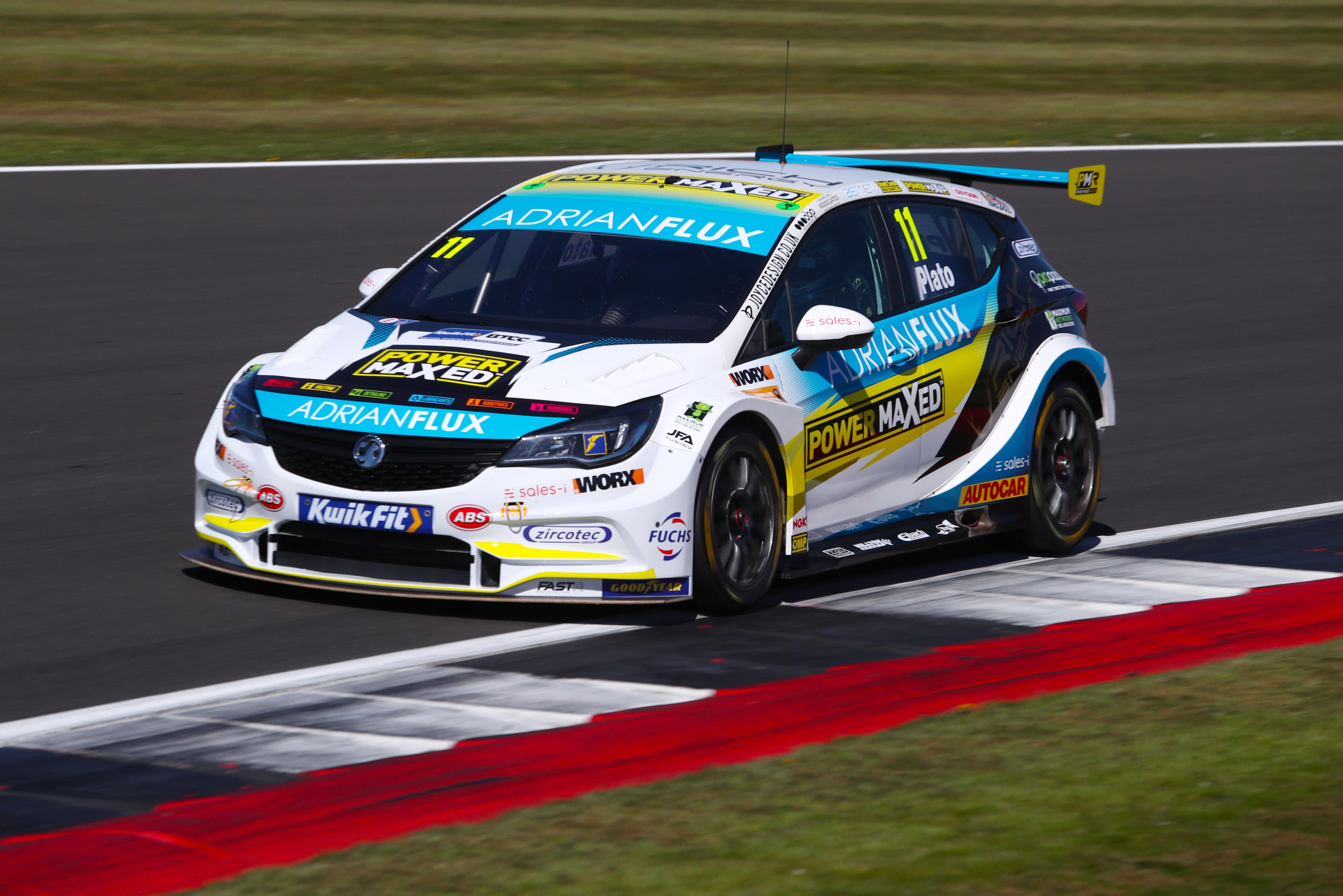 Jason Plato, British Touring Car Championship, Silverstone 2021