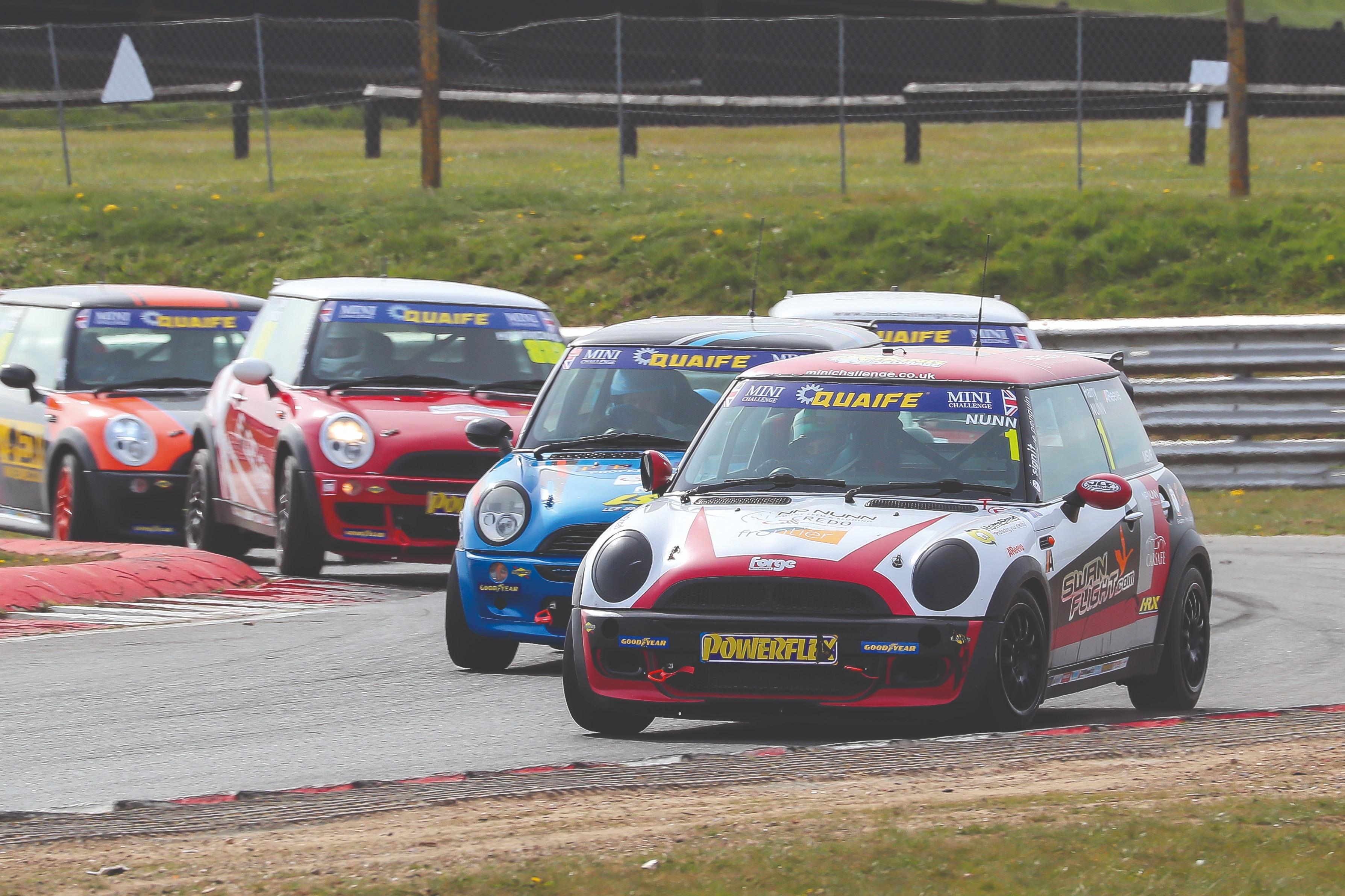Harry Nunn, Lee Pearce Mini Challenge Snetterton 2021