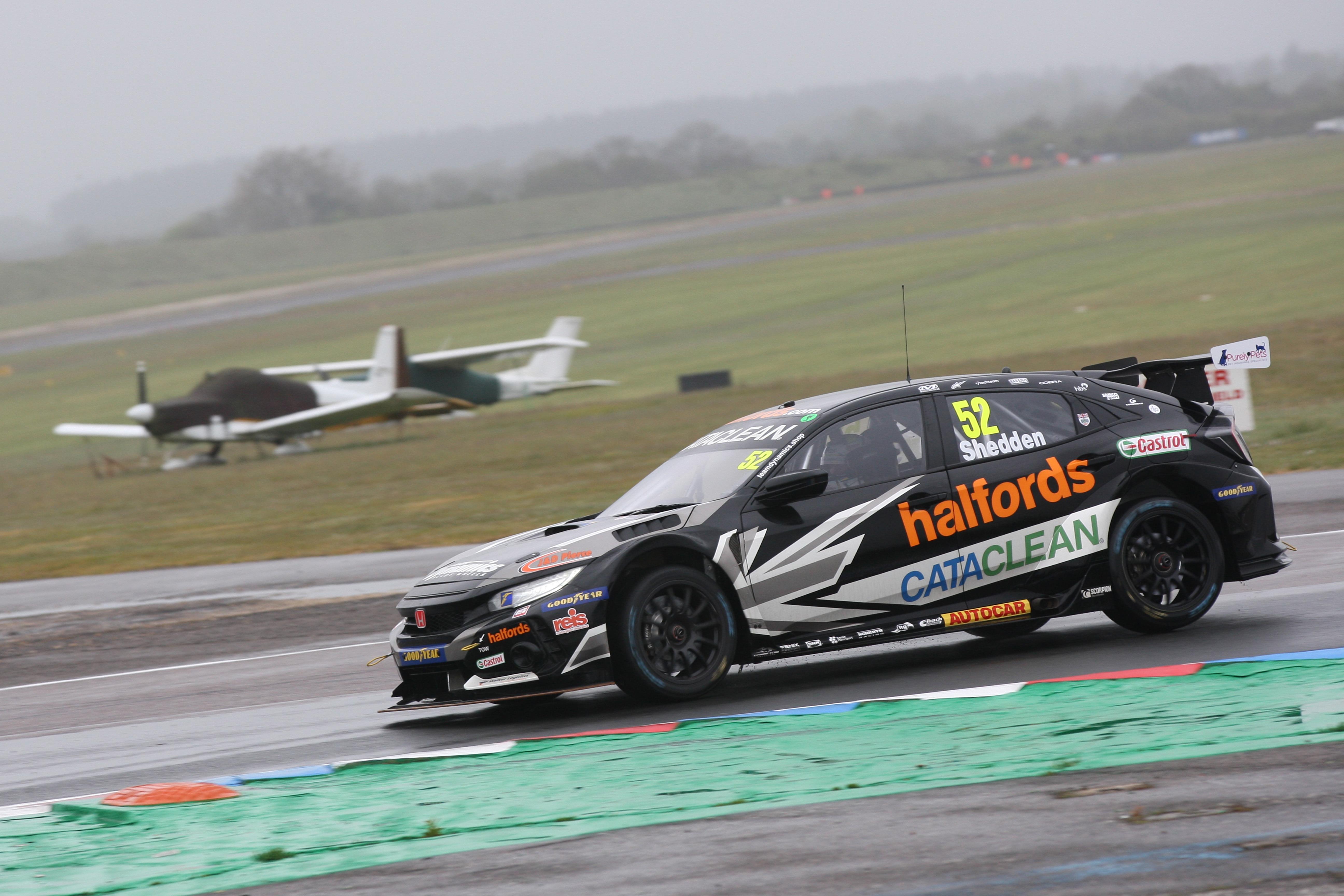 Gordon Shedden, Team Dynamics Honda BTCC Thruxton 2021