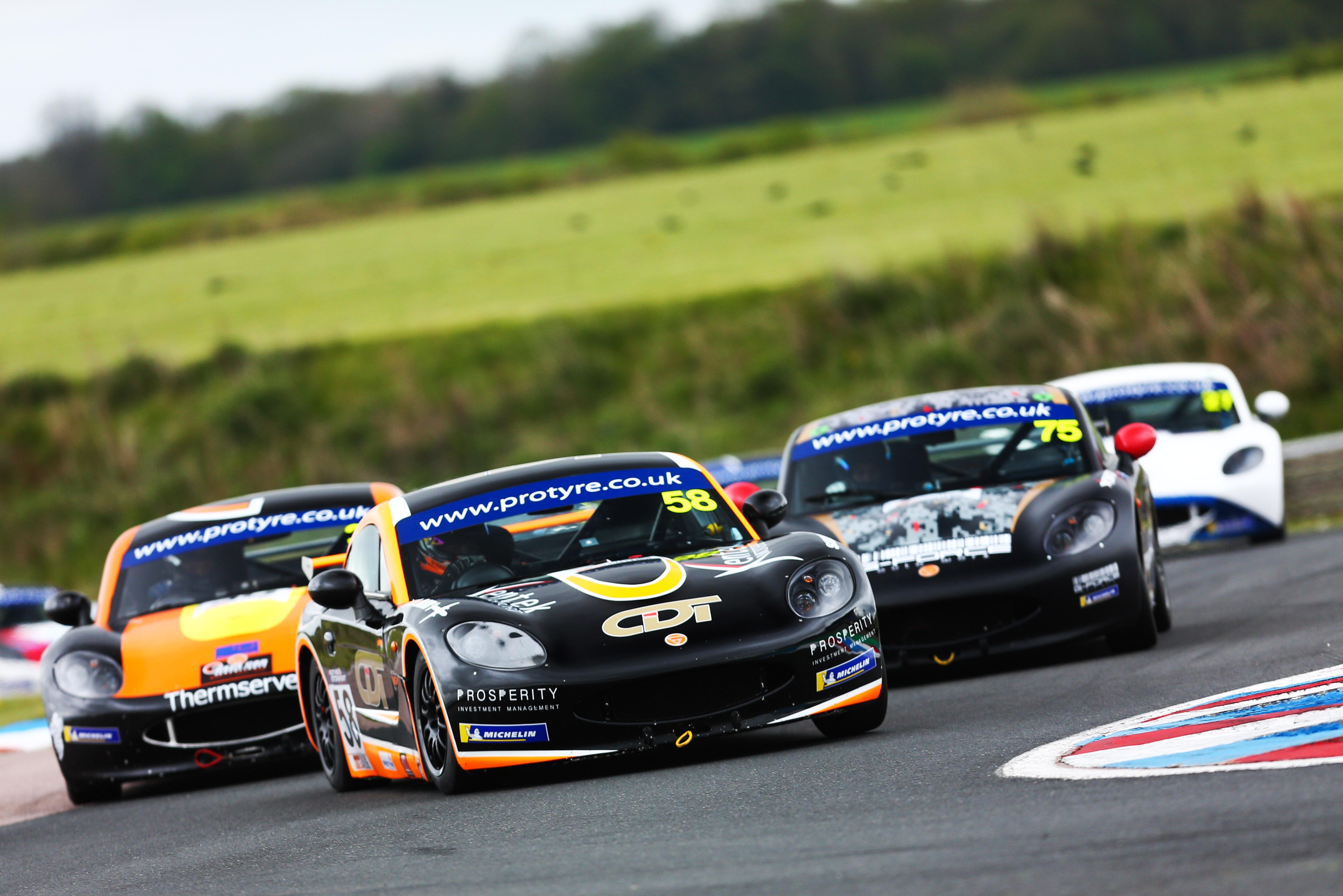 Josh Steed, Ginetta GT5 Challenge, Thruxton 2021