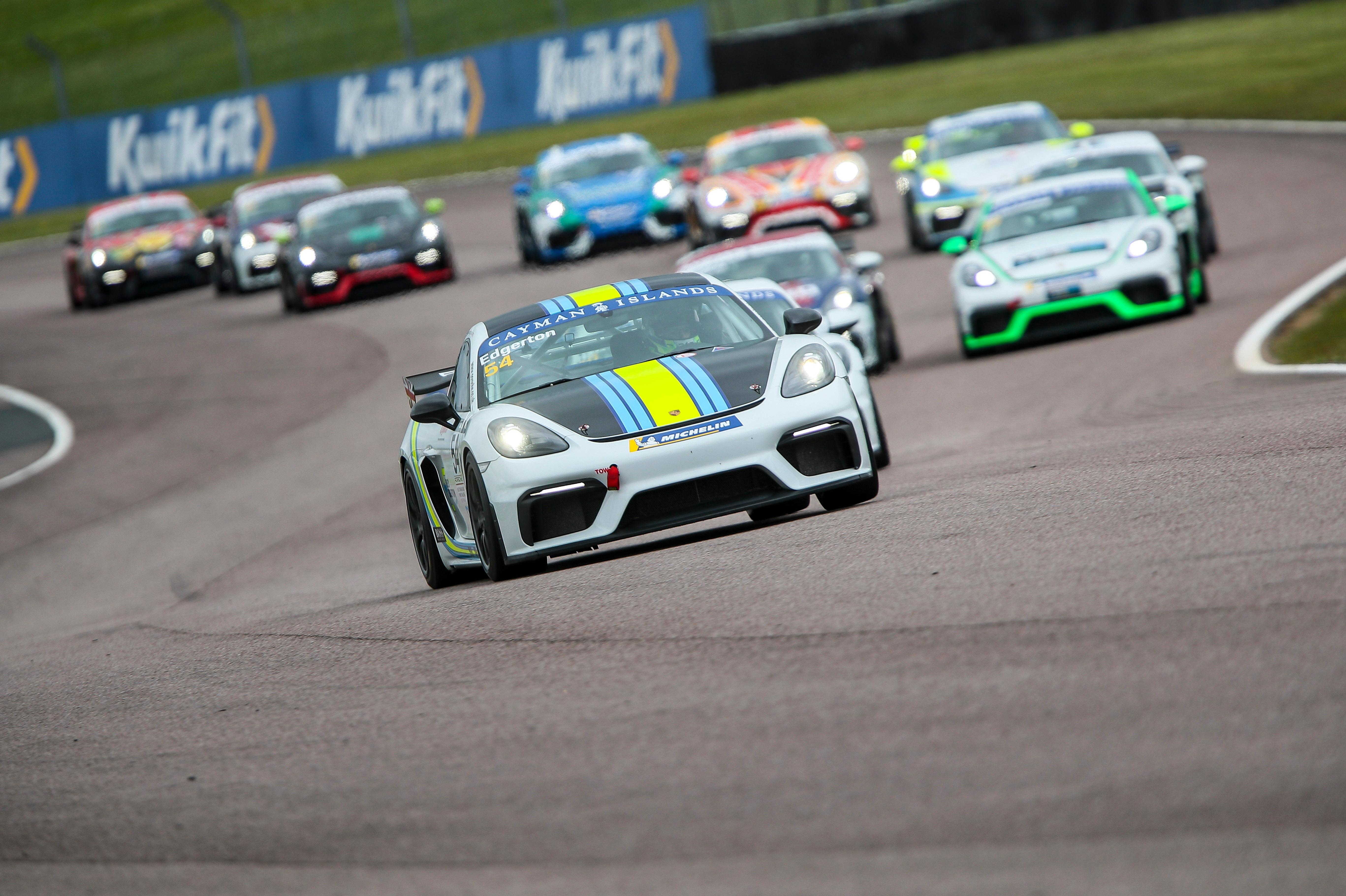 Theo Edgerton, Porsche Sprint Challenge, Thruxton 2021