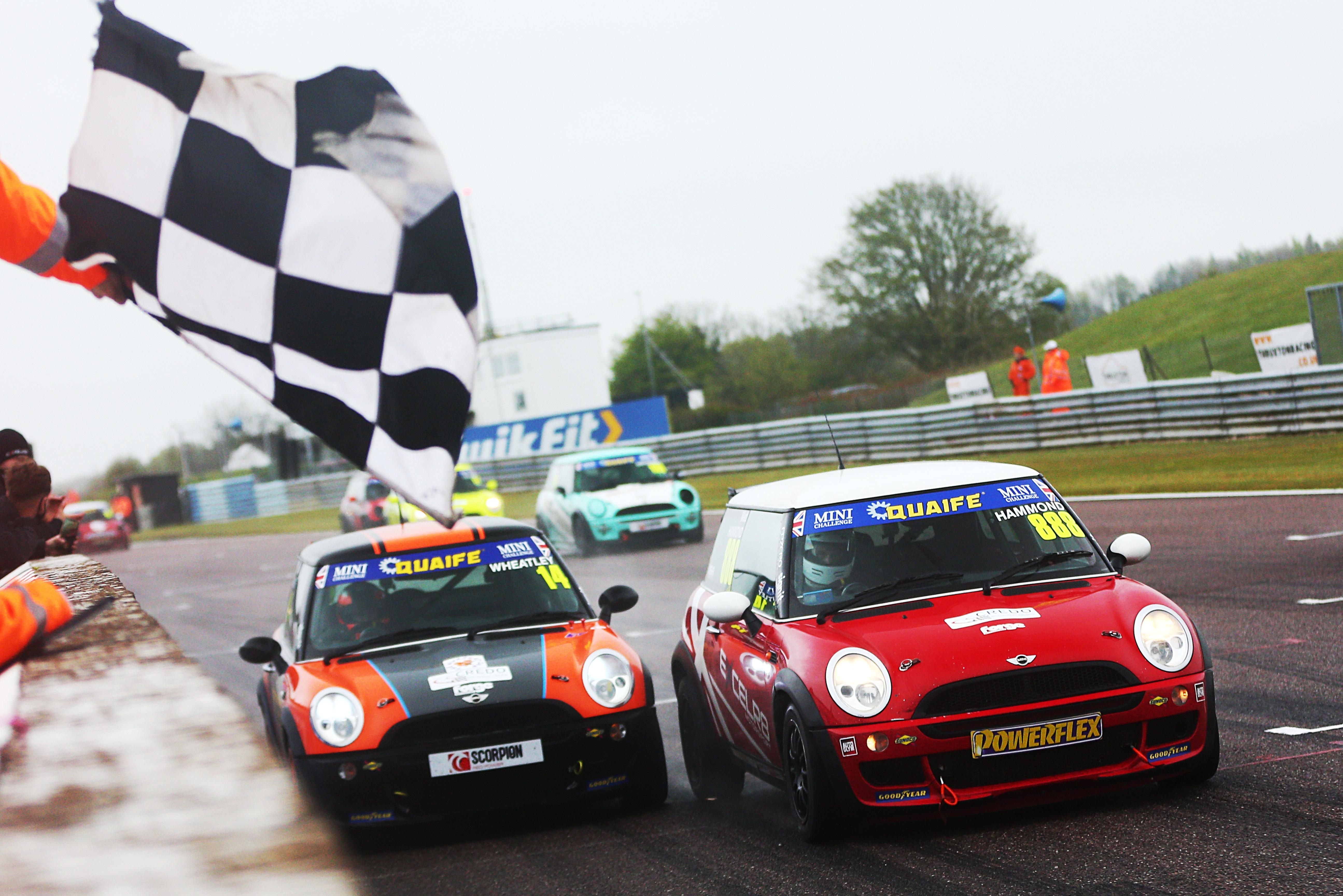 Matt Hammond, Mini Challenge Trophy, Thruxton 2021