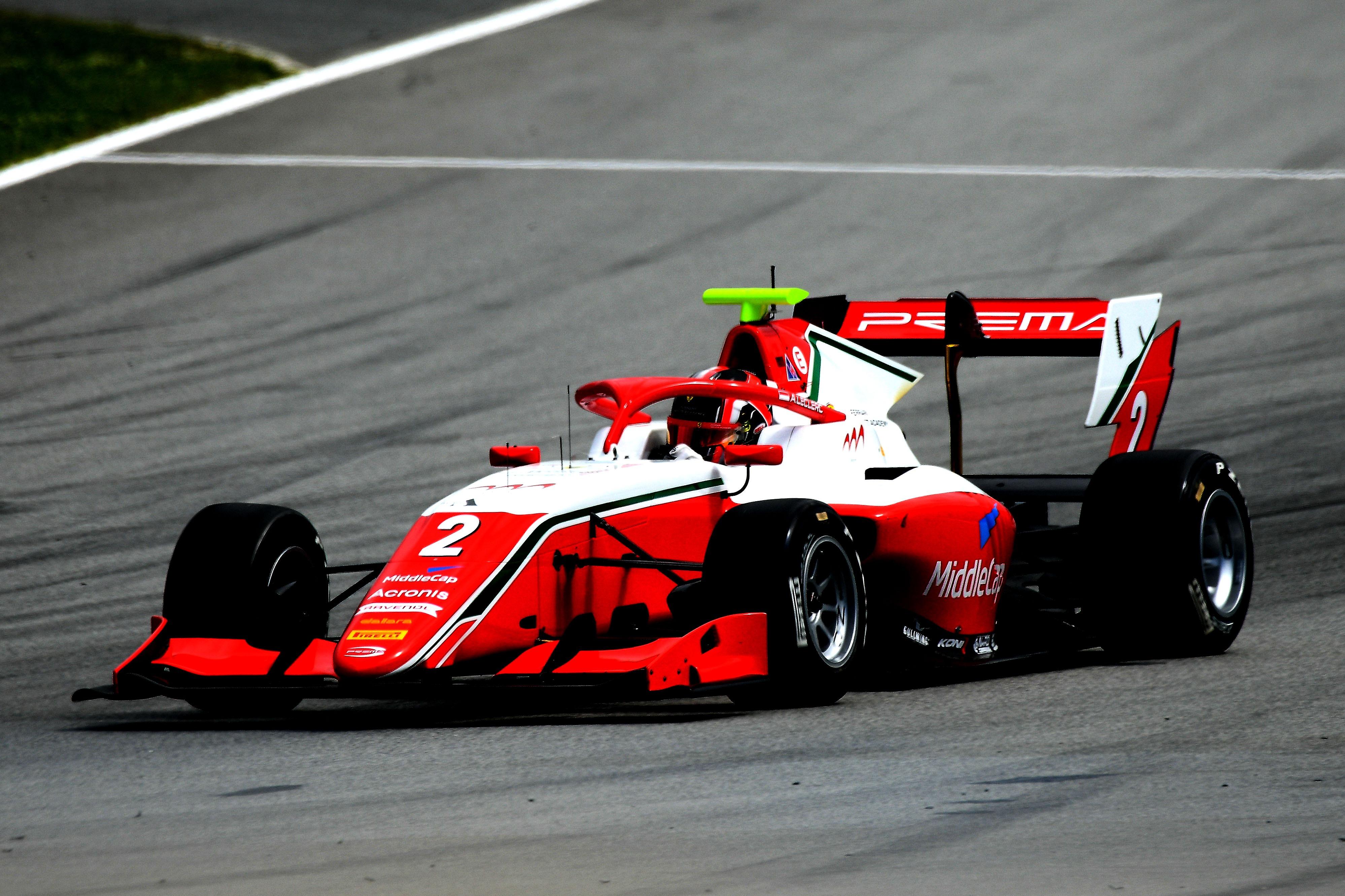 Arthur Leclerc, FIA F3 Barcelona
